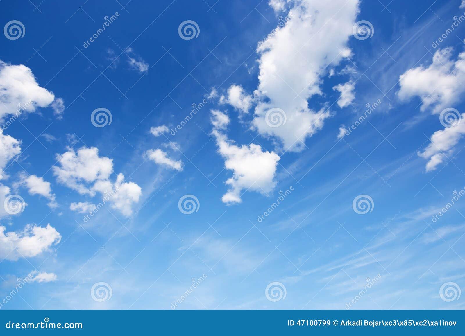 Cielo blu