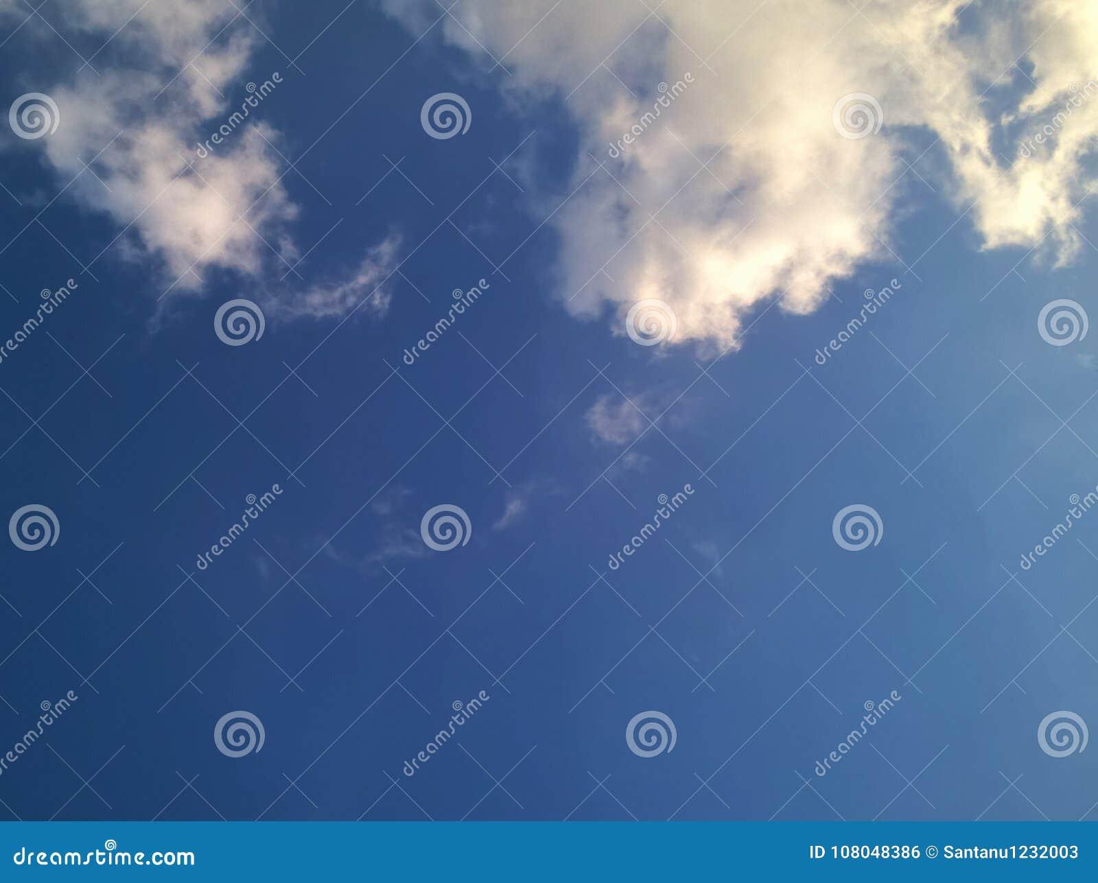 Cielo con la nube