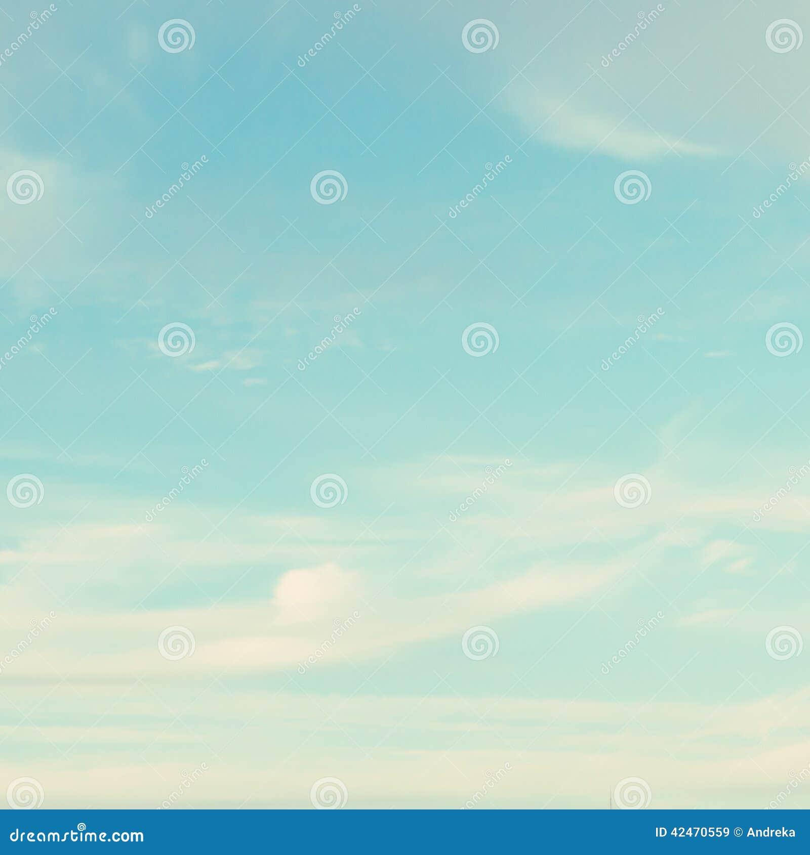 Cielo de la turquesa
