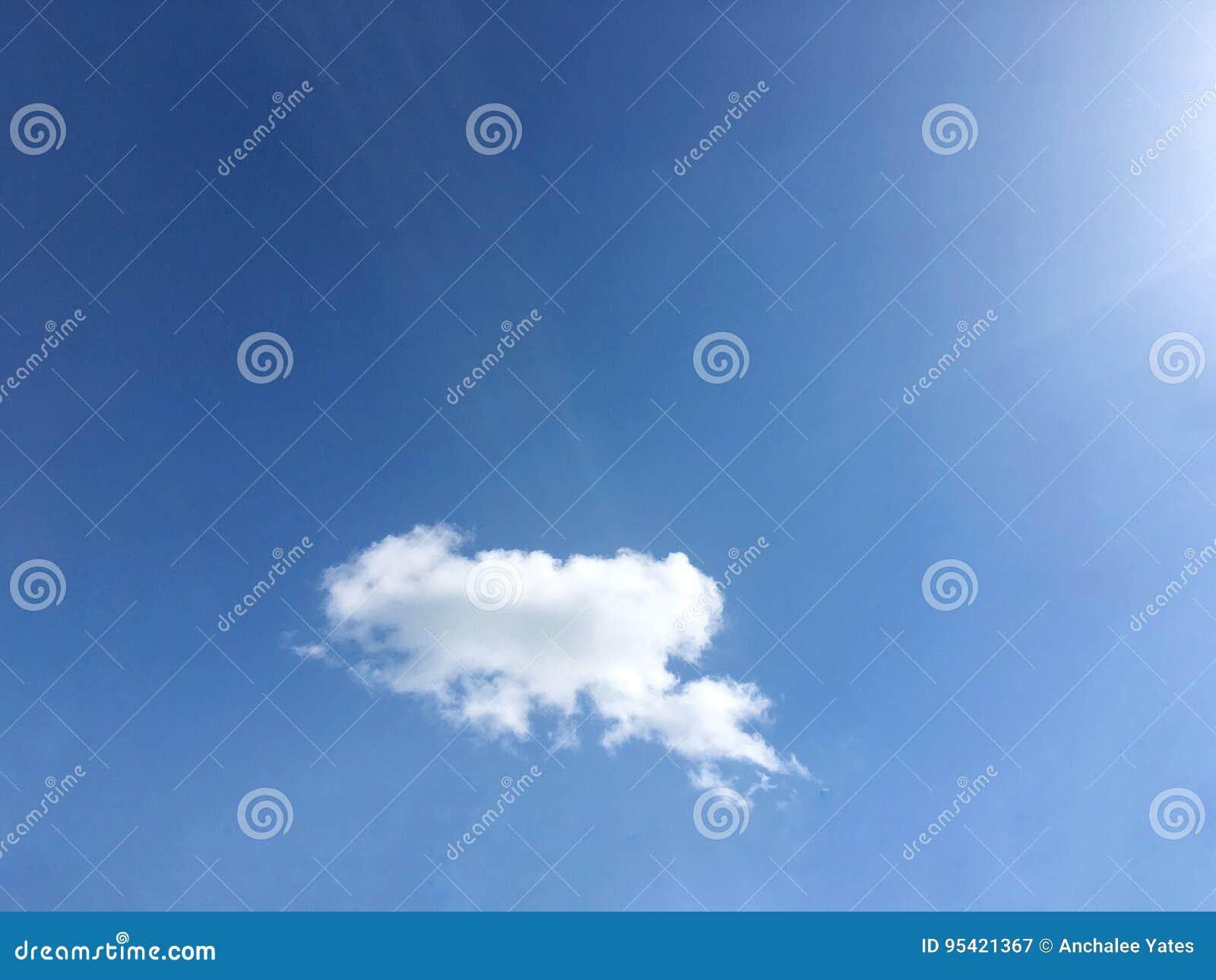 Cielo en el verano
