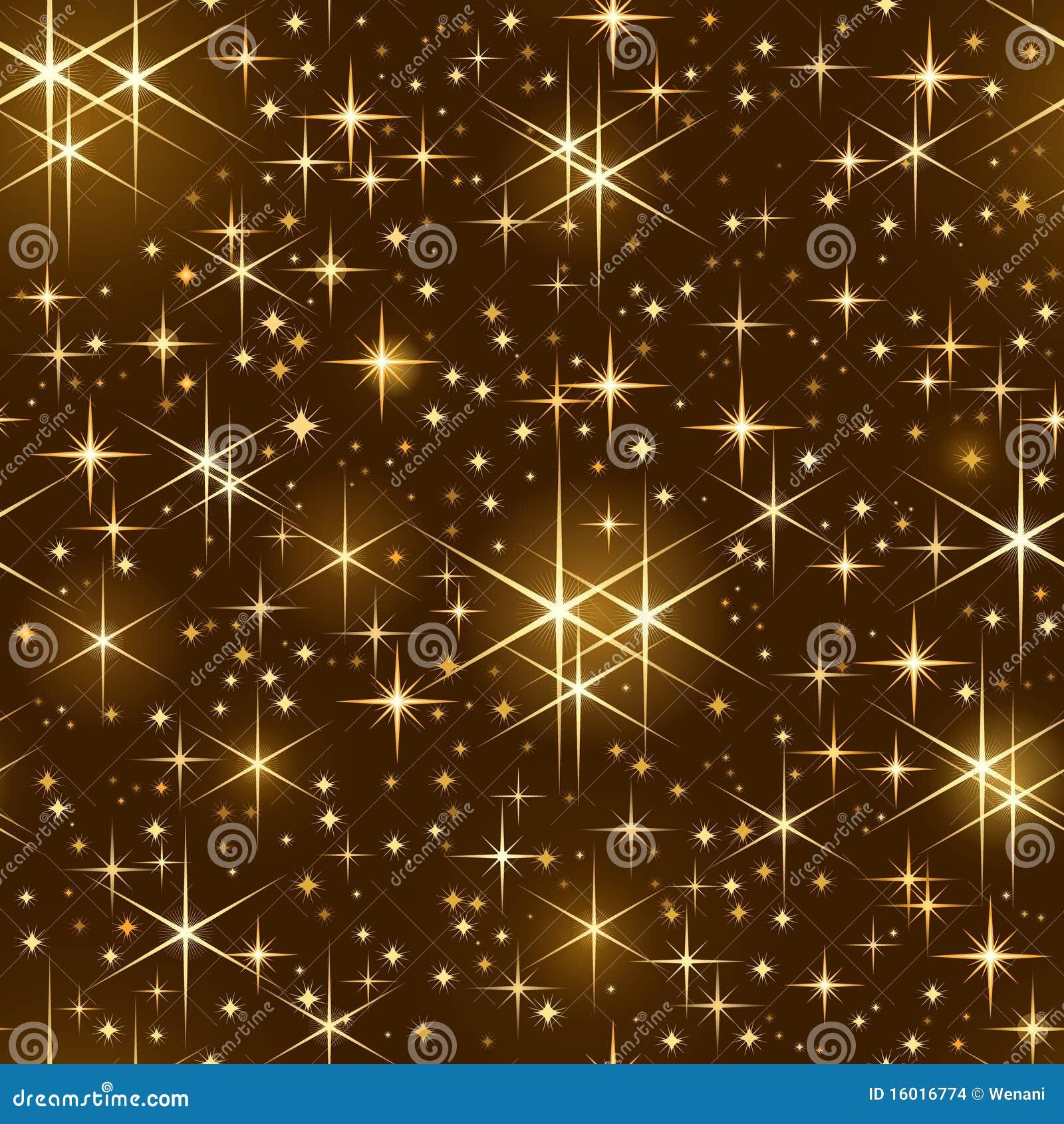 Cielo Estrellado Inconsútil, Chispa De La Navidad Imagenes ...