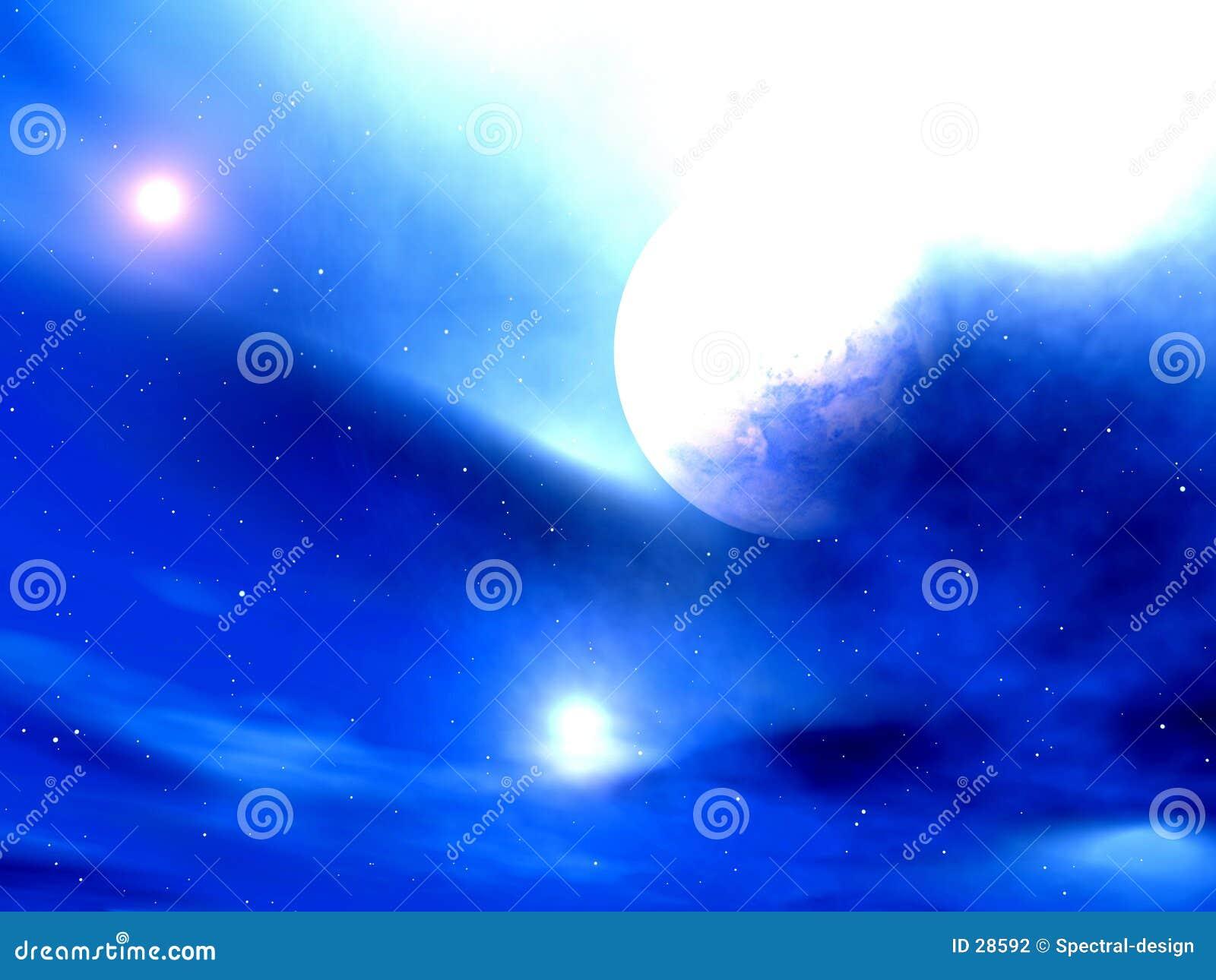 Download Cielo Glaring stock de ilustración. Ilustración de luna - 28592