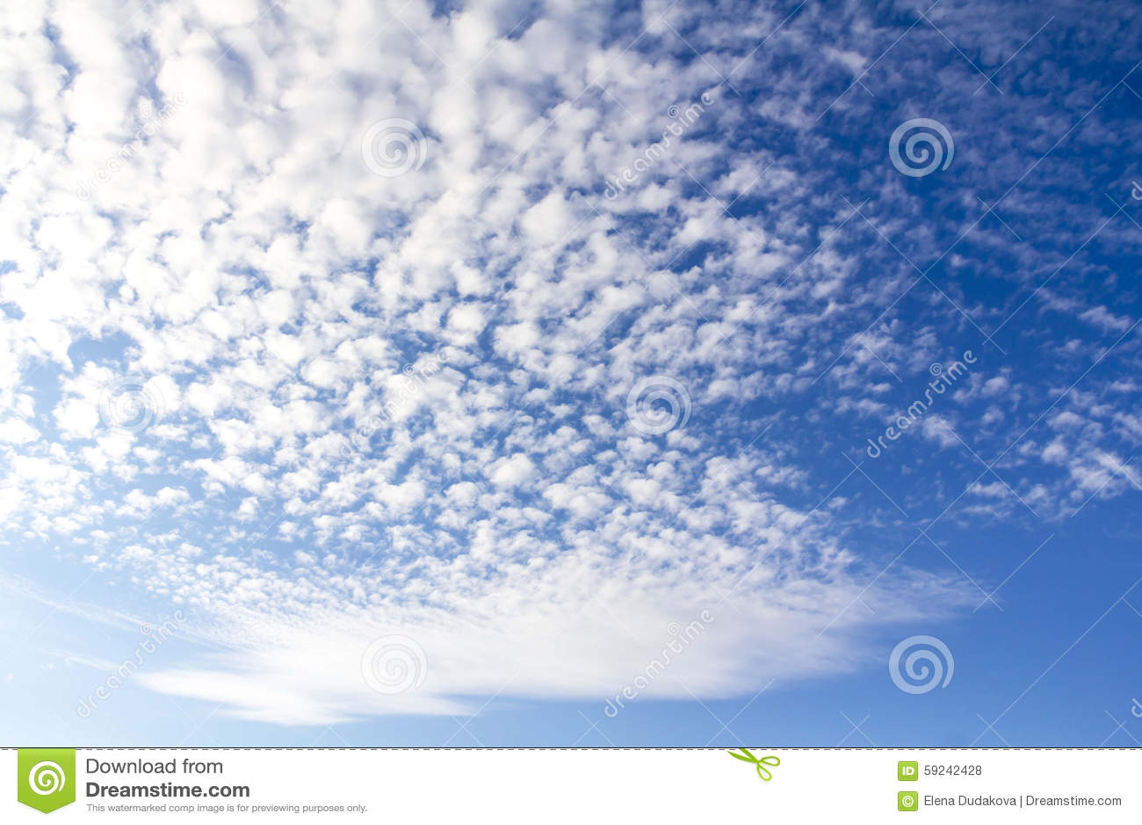 Download Cielo Hermoso Con Las Nubes Foto de archivo - Imagen de blanco, nubes: 59242428