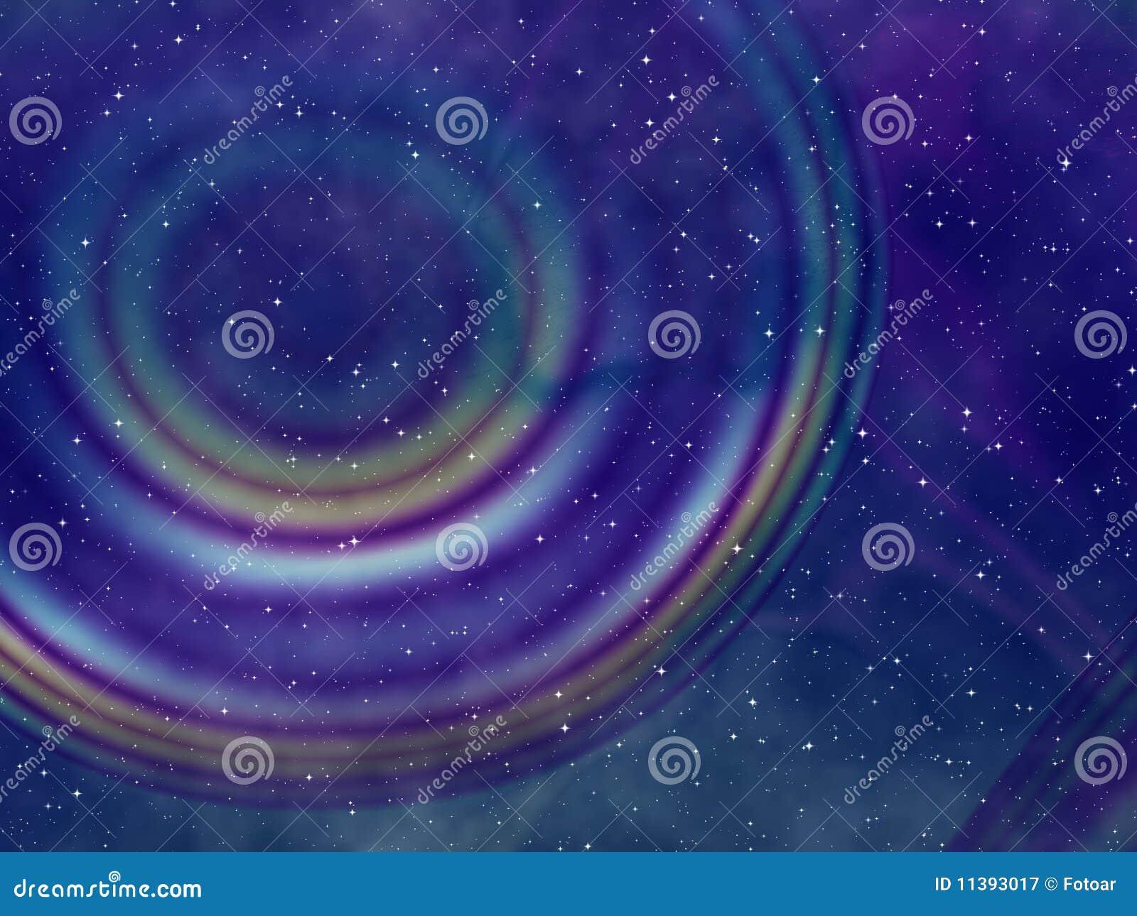 Cielo Nocturno Estrellado Abstracto