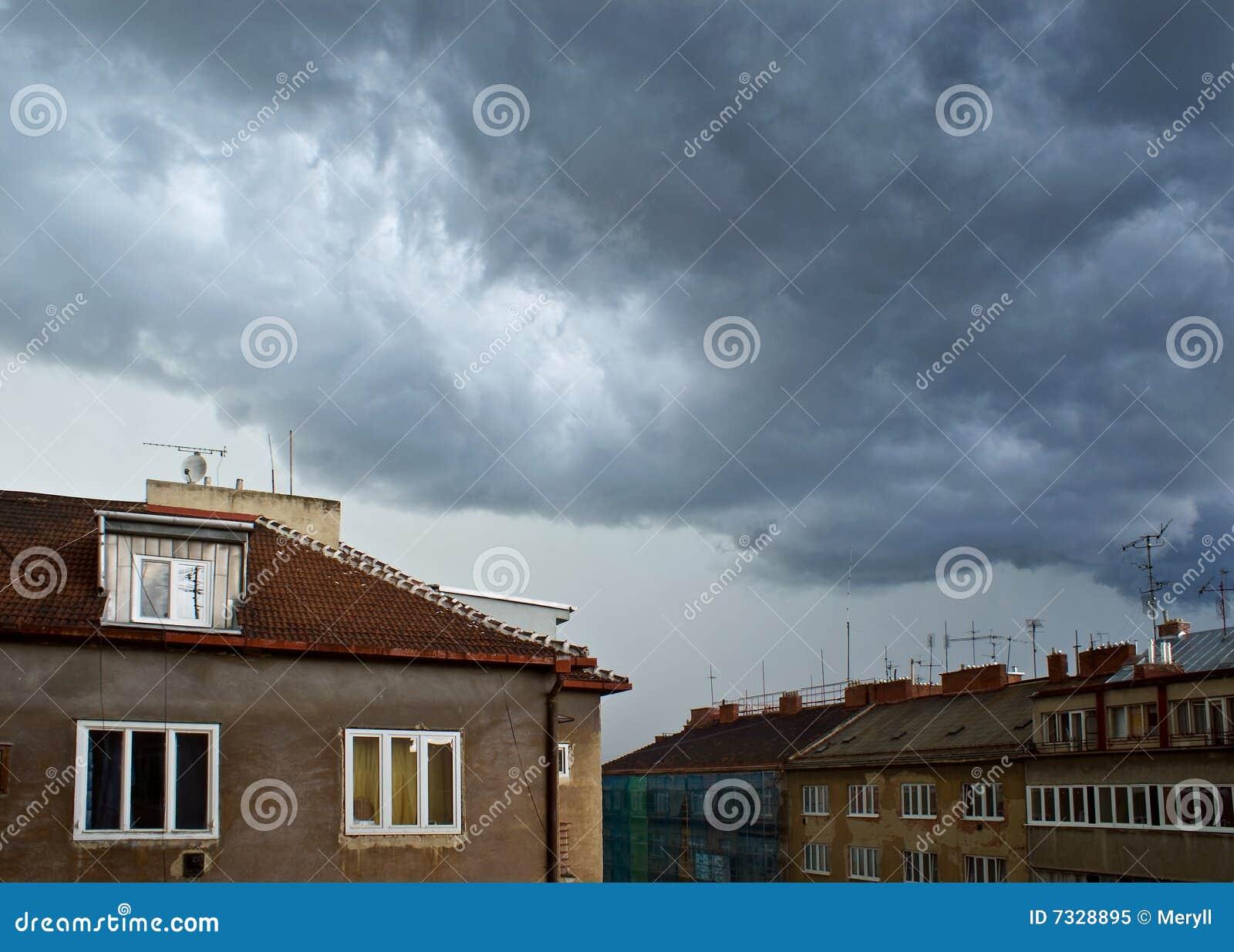 Cielo tempestuoso