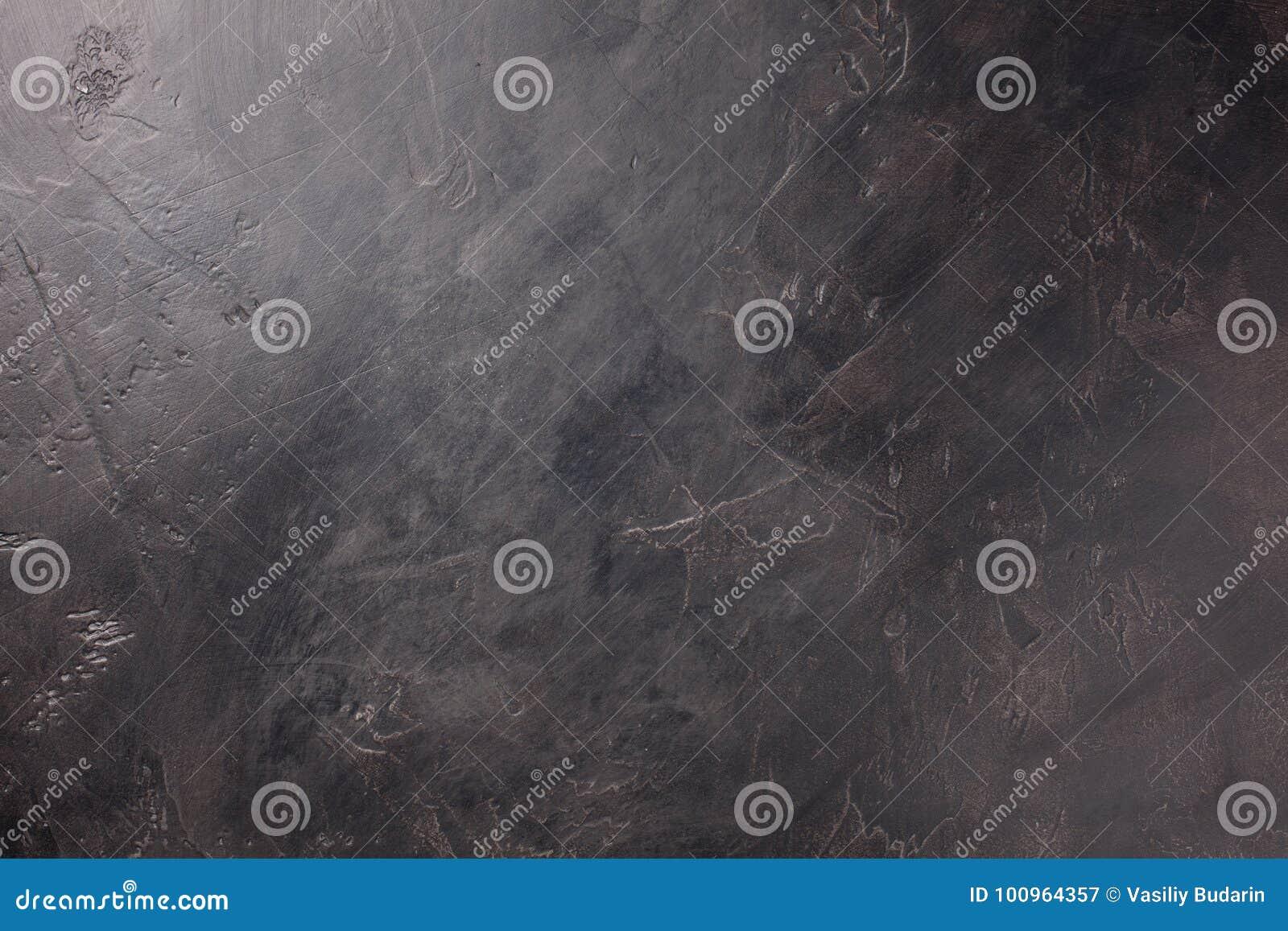 Ciemny betonowej ściany tło, tekstura z kopii przestrzenią