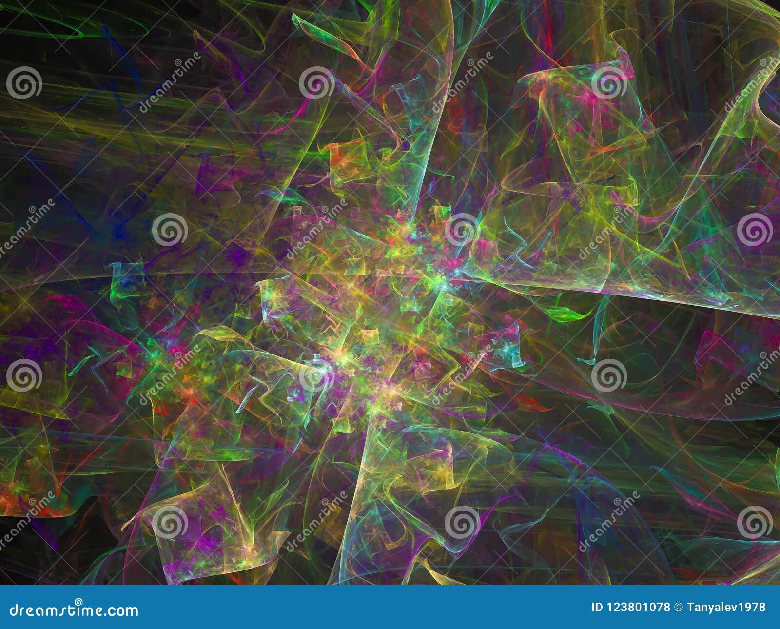 Ciencia brillante etérea del efecto superficial de la facilidad del fondo futuro digital abstracto de la ilusión