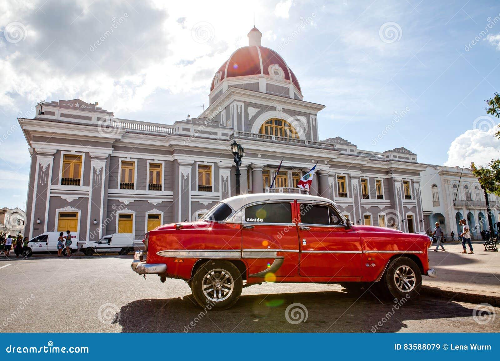 Cienfuegos, Cuba - December 17, 2016: Stadhuis