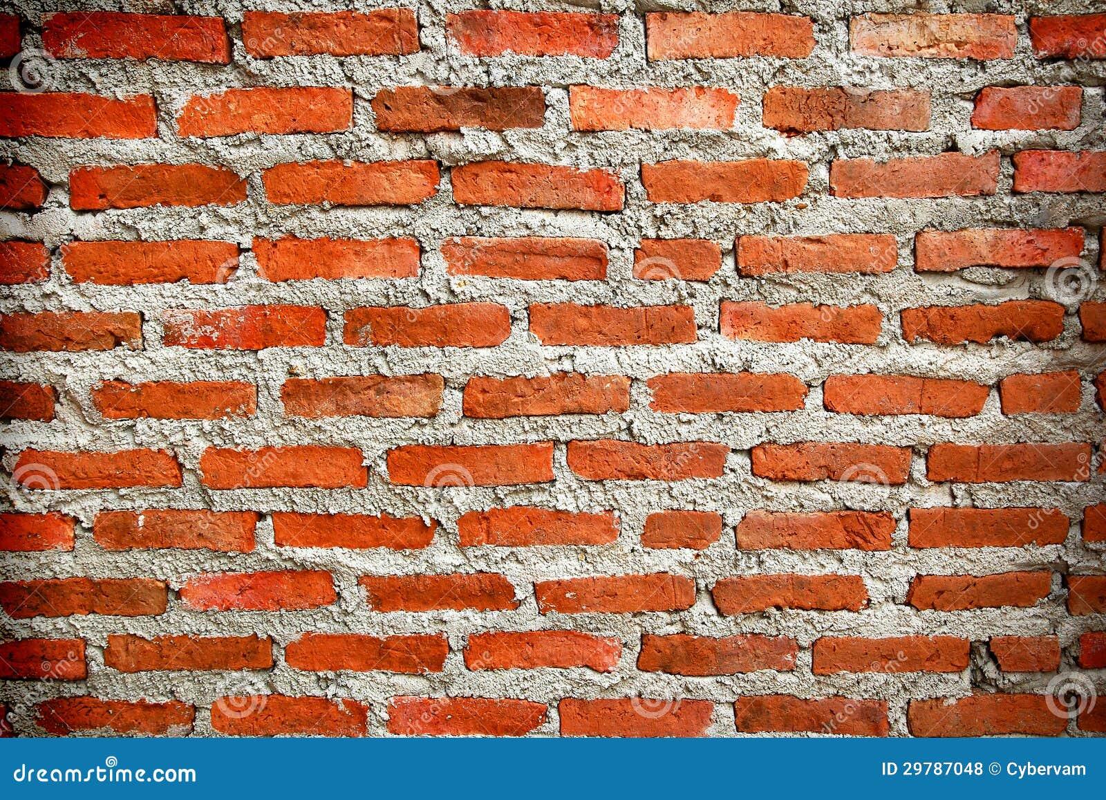 Pared de ladrillos rojos foto de archivo imagen de - Ladrillos para pared ...