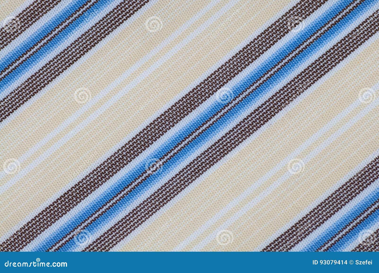 Cierre de la textura del paño de las rayas para arriba