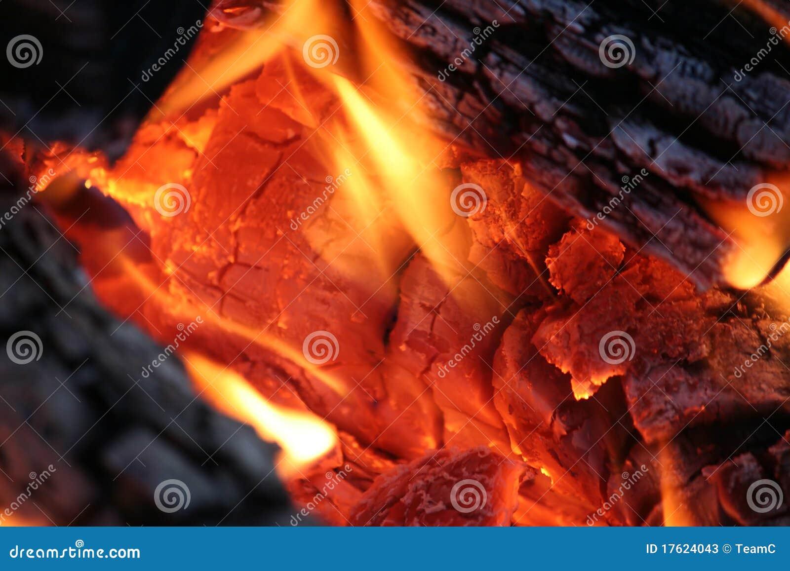 Cierre del fuego del campo para arriba