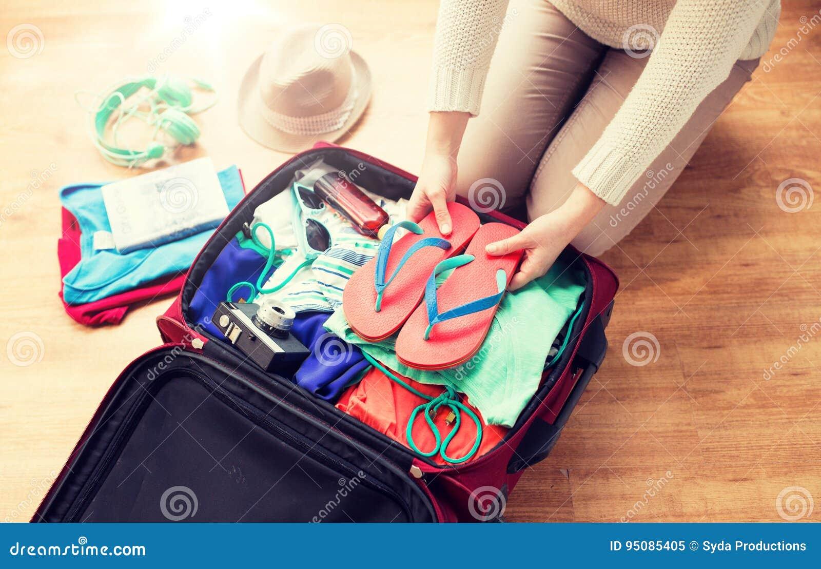 Cierre para arriba del bolso del viaje del embalaje de la mujer para las vacaciones