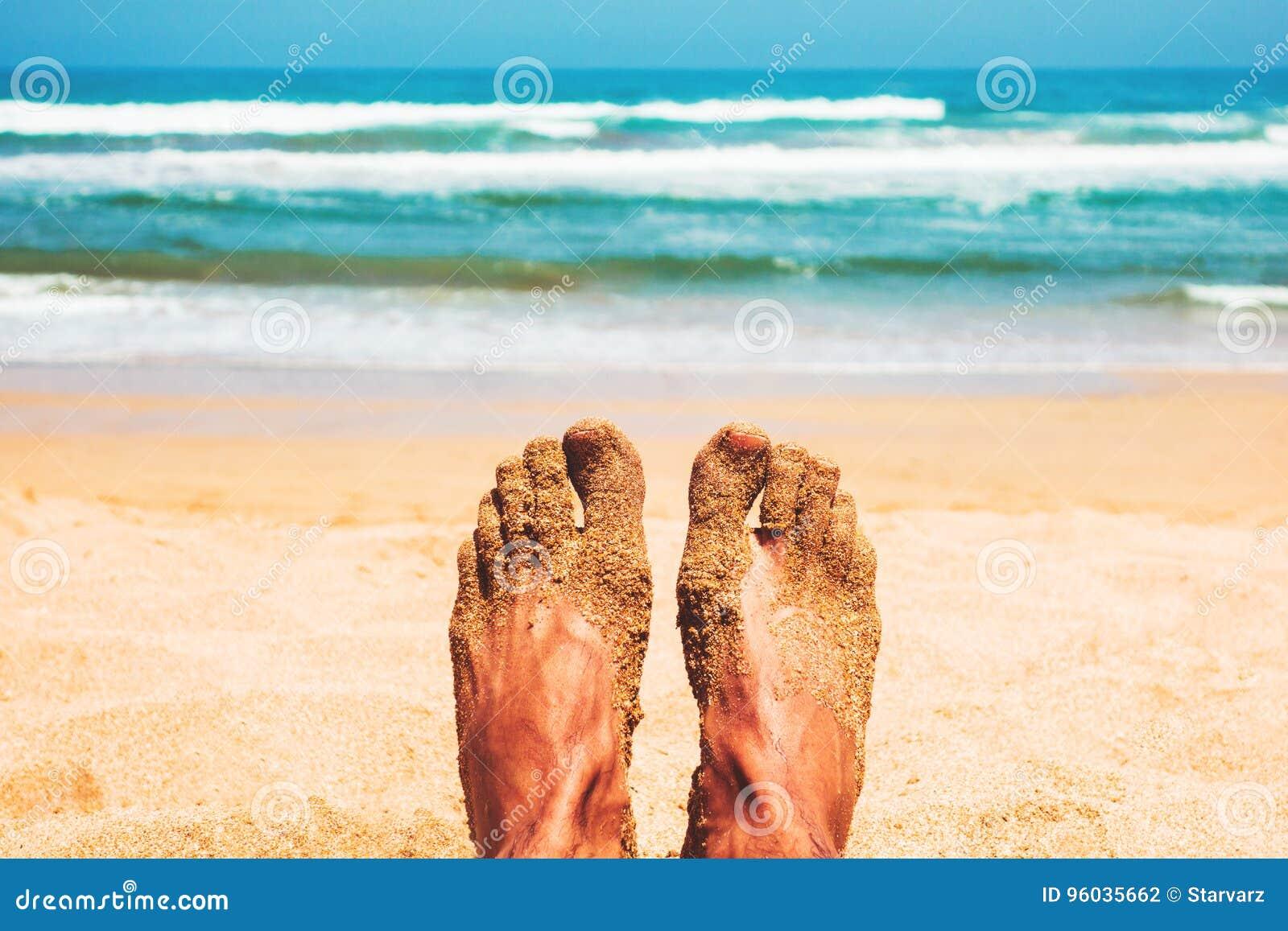 Cieszyć się plażę w lecie