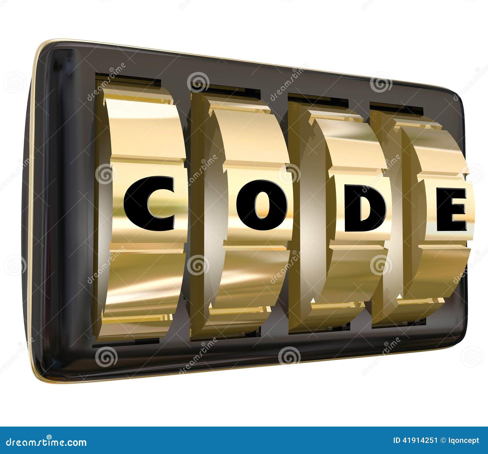 Cifre la contraseña Acce de la información clasificada del secreto de los diales de la cerradura de la palabra