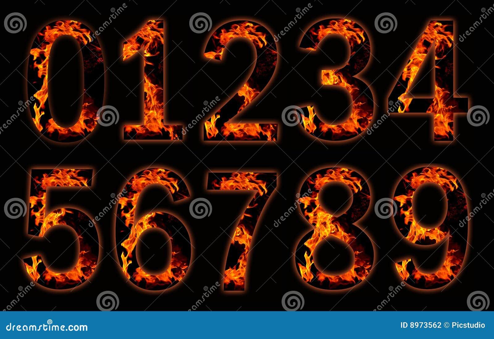 Cifre su fuoco.