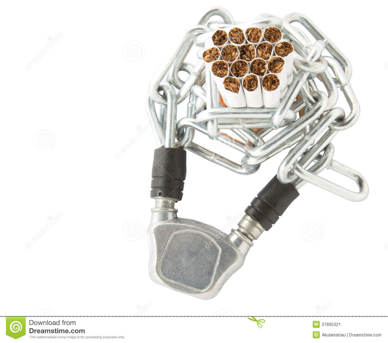 Cigarette and Chains