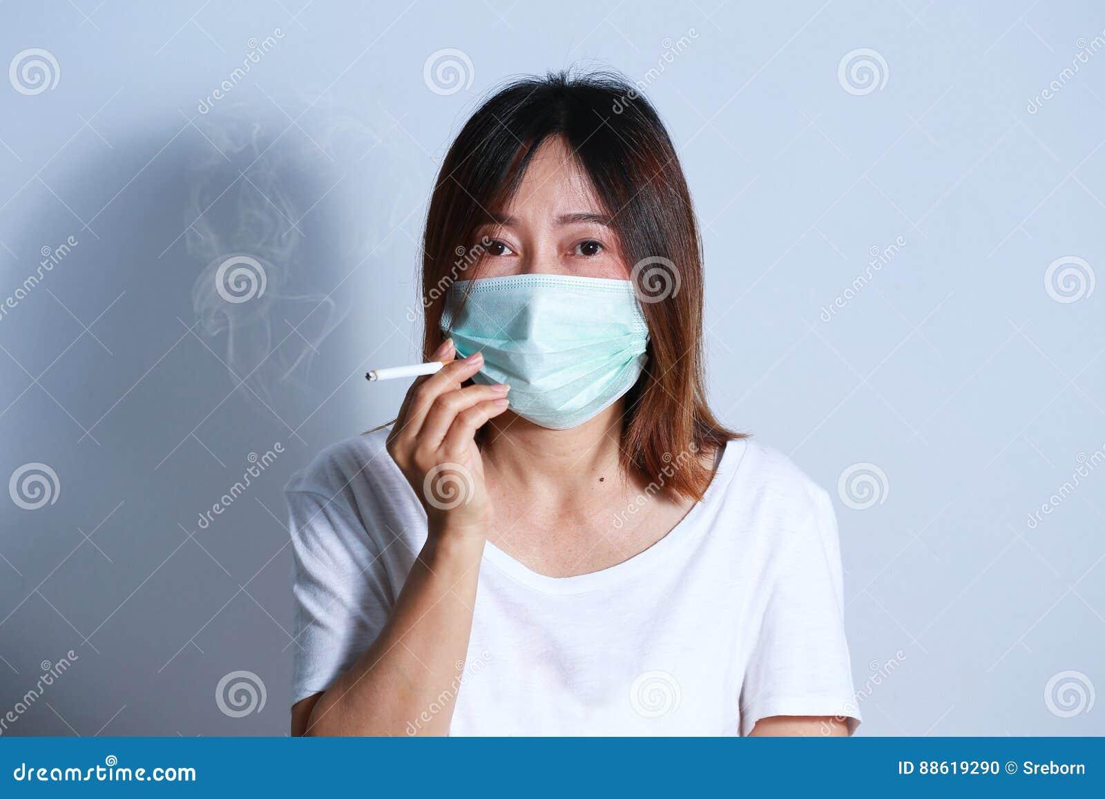 masque anti tabagisme