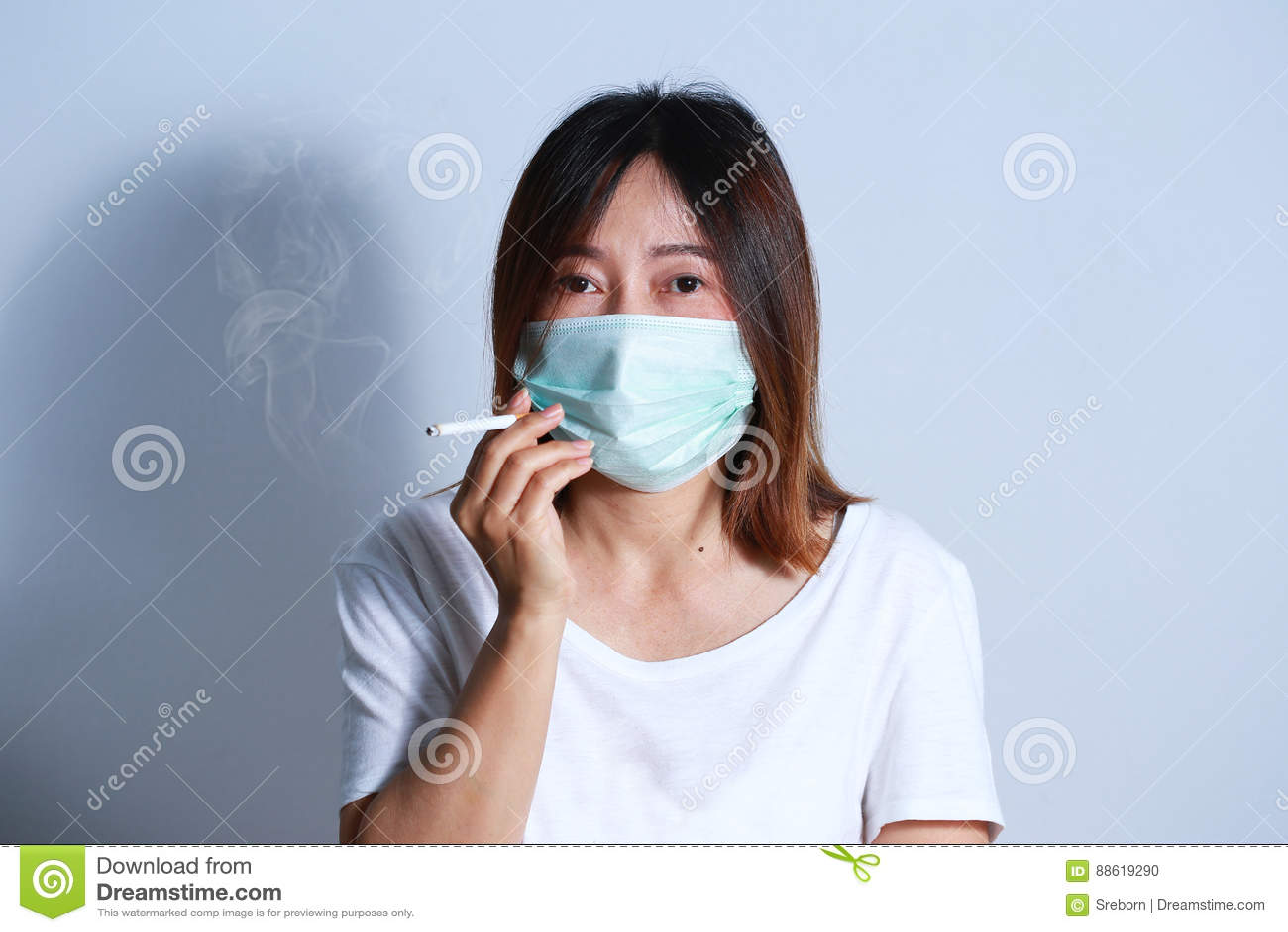 masque anti tabac