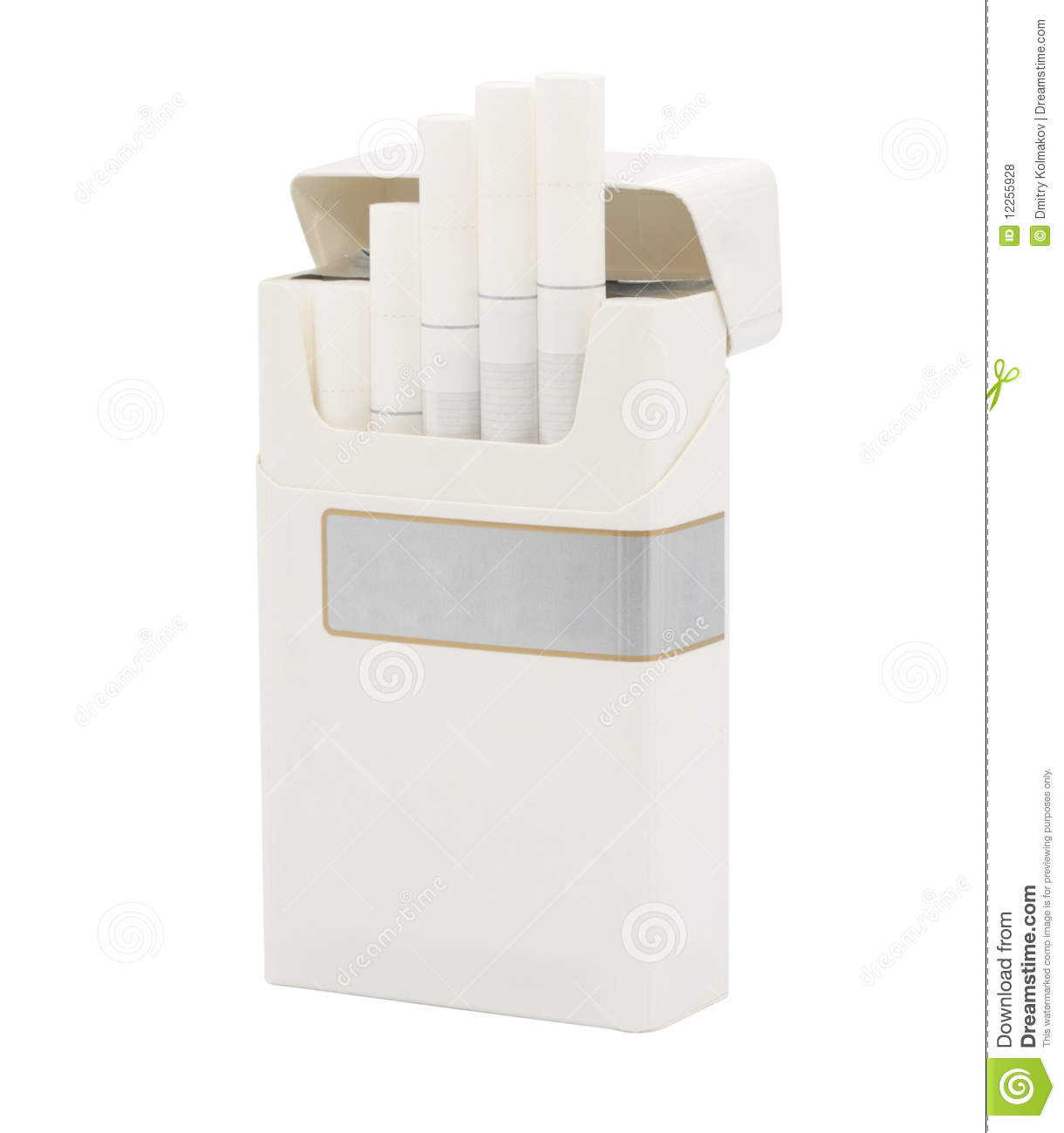 Cigarette Pack Royalty Free Stock Photos - Image: 12255928