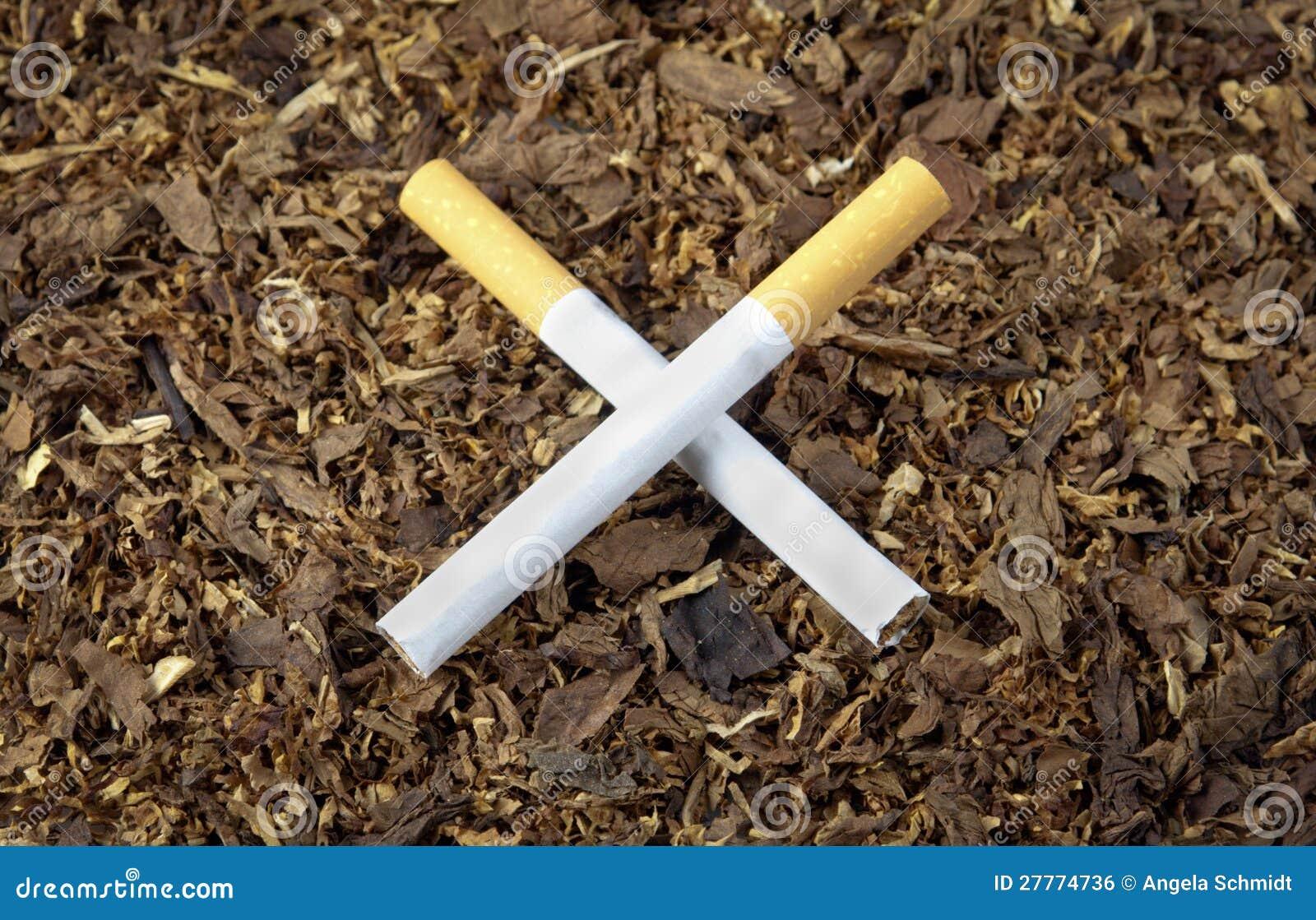 Cigarettes en travers