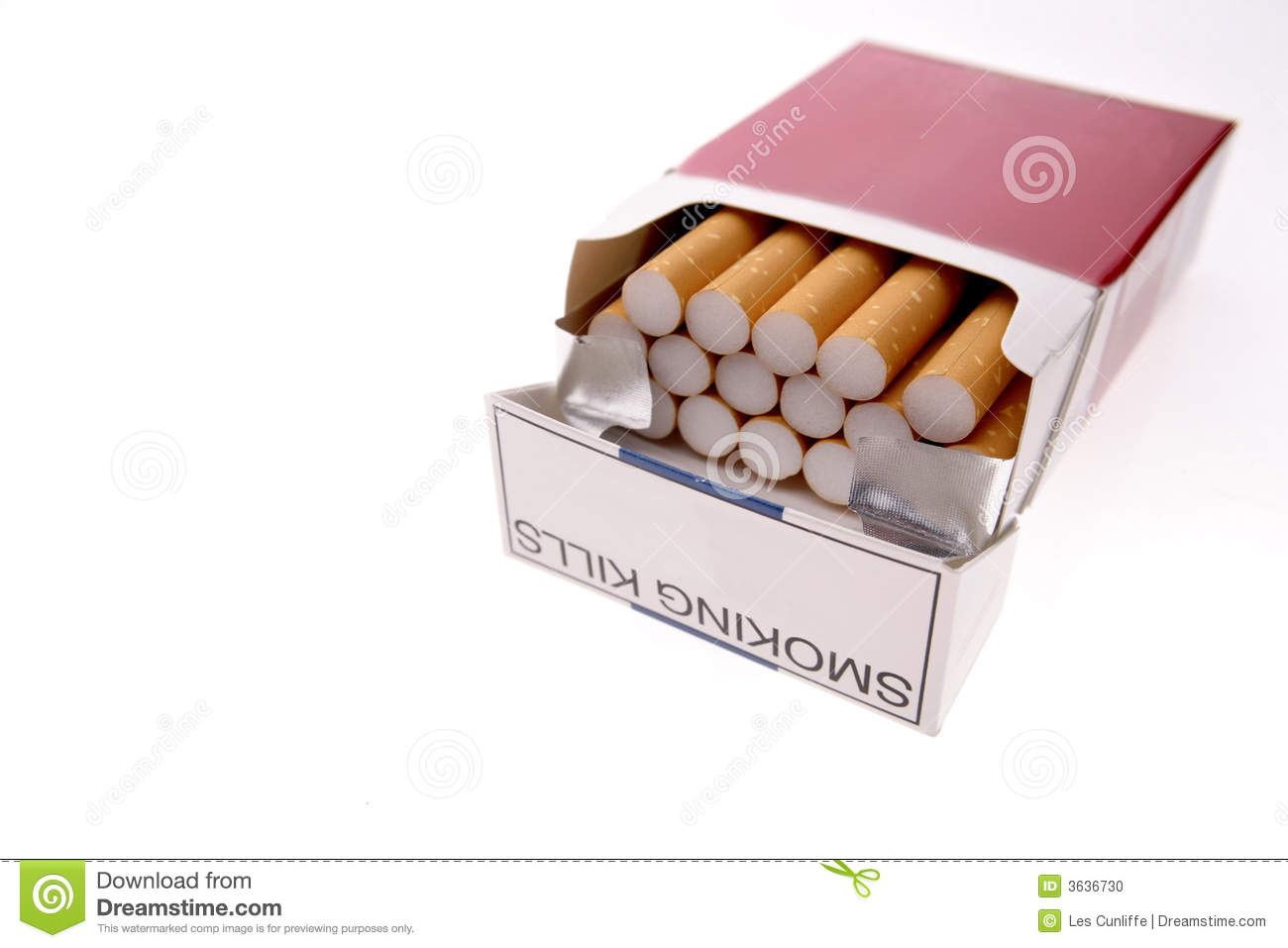 how to pack a pack of cigarettes