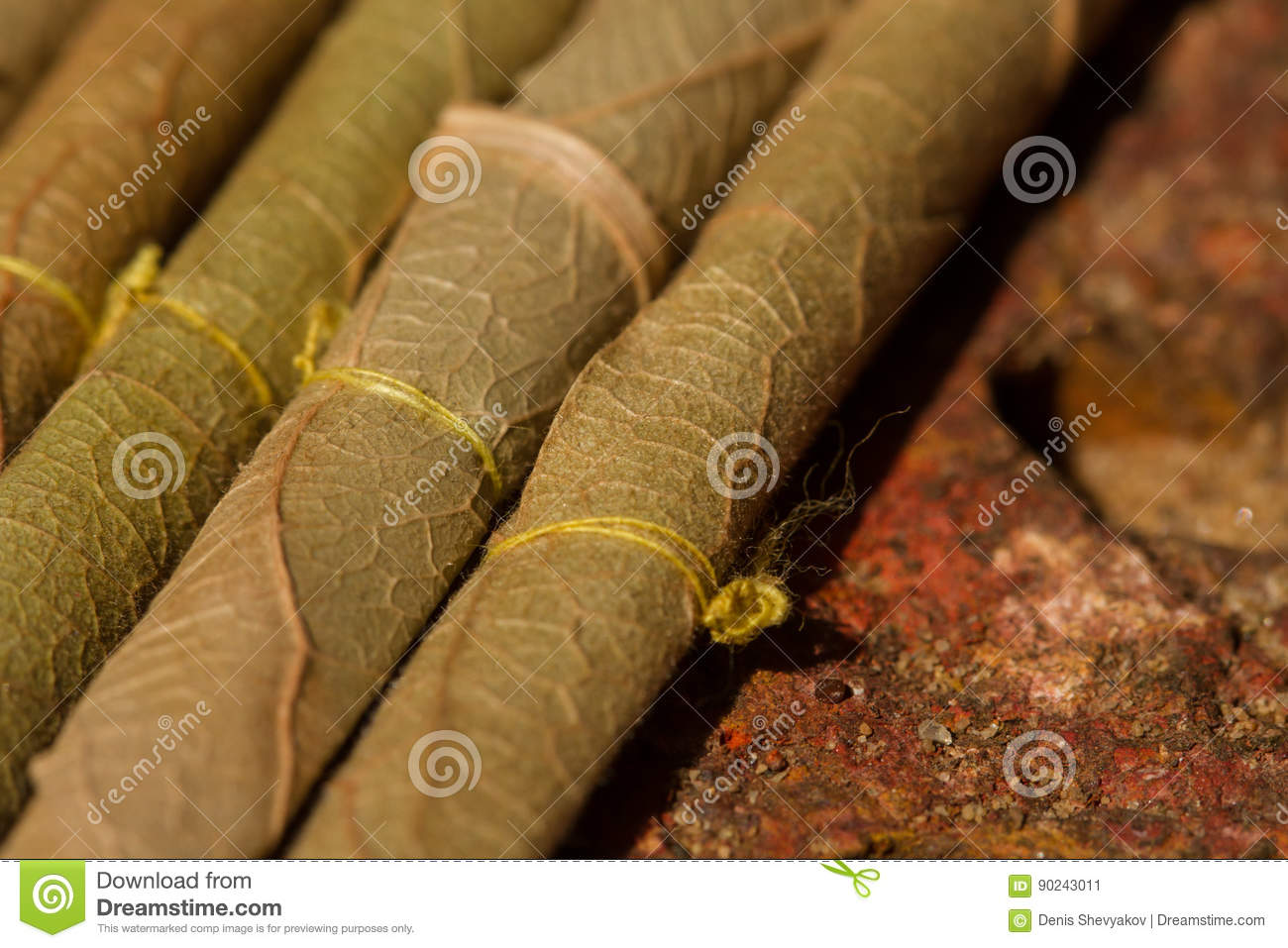 Cigarillos Indiens Traditionnels Image Stock Image Du Photo Culture 90243011