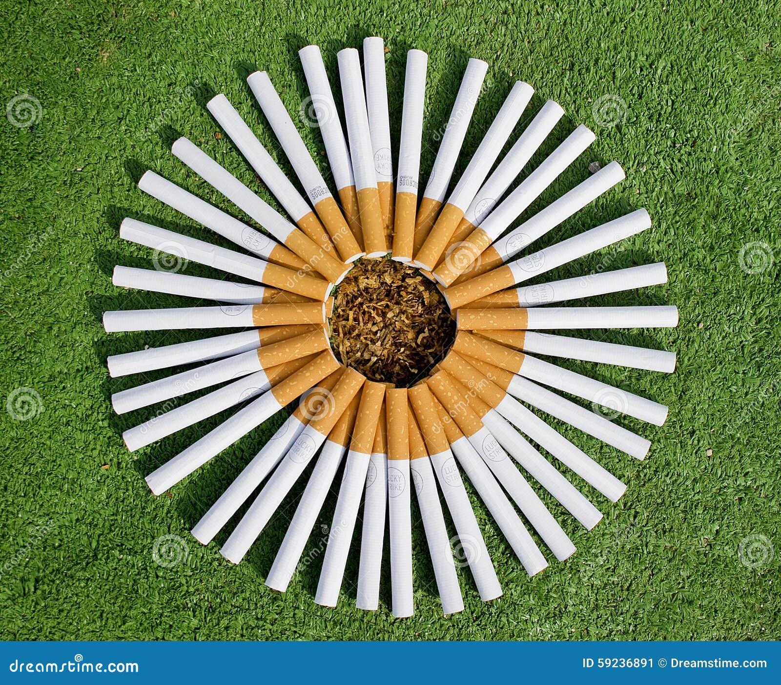 Cigarrillos de la flor