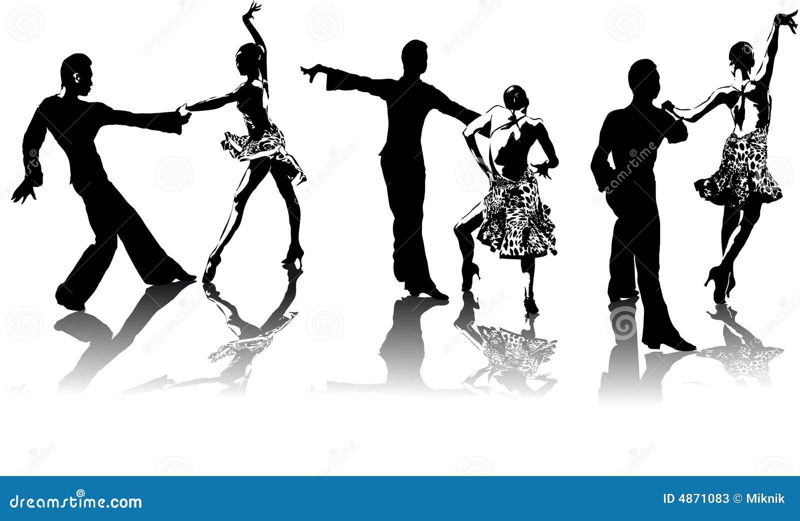 Cijfers van Latijns-Amerikaanse dansers