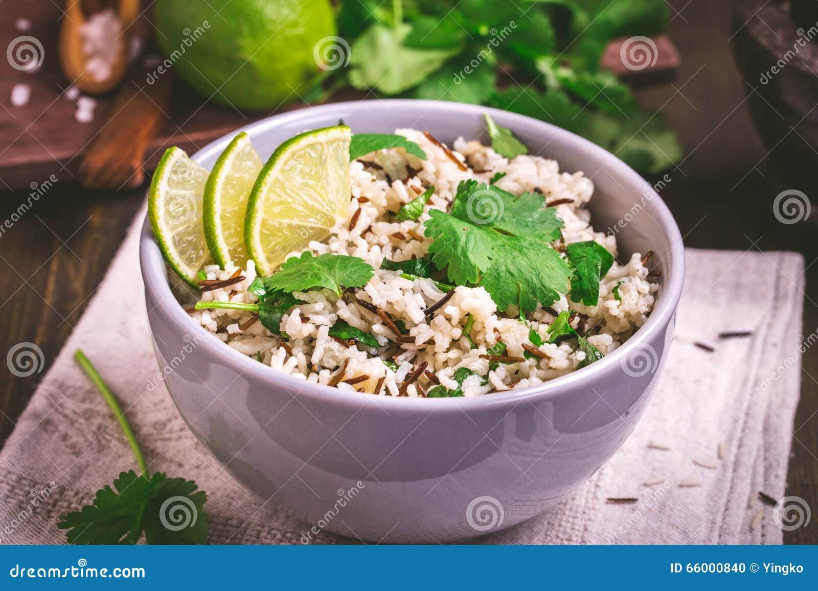 Cilantro lime basmati rice