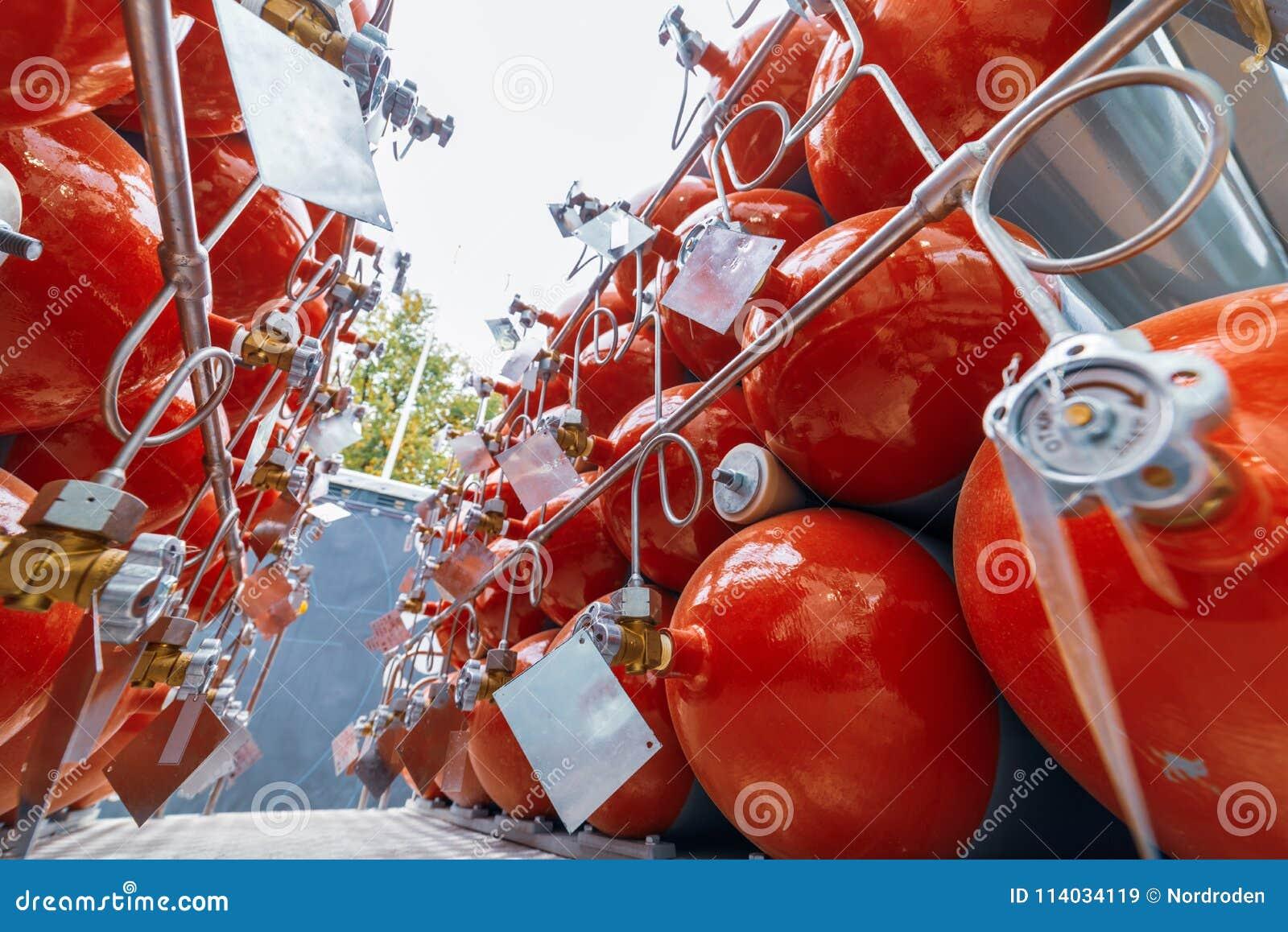 Cilinders voor samengeperst gas