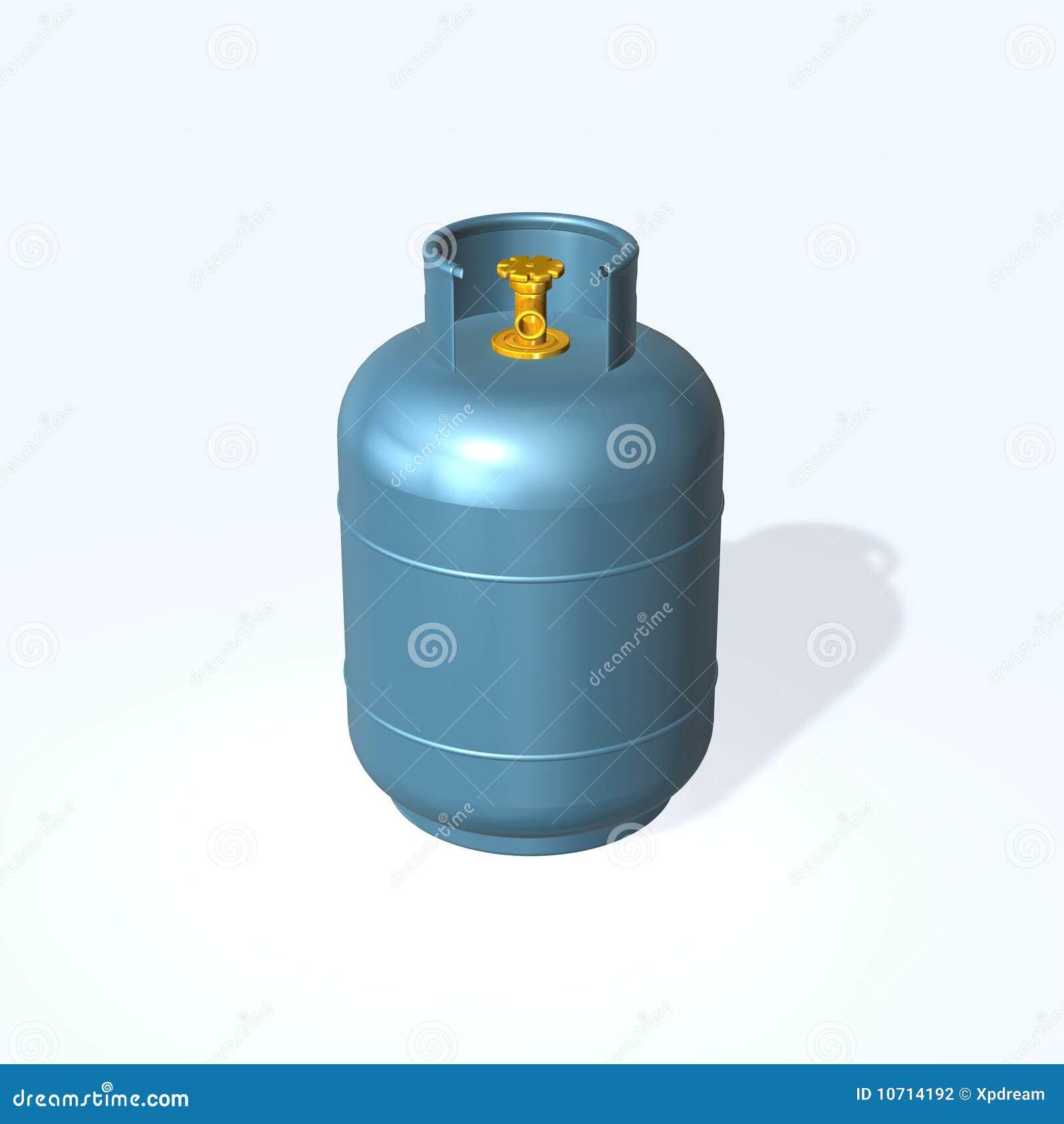 Cilindro de gas fotograf a de archivo imagen 10714192 for Valor cilindro de gas