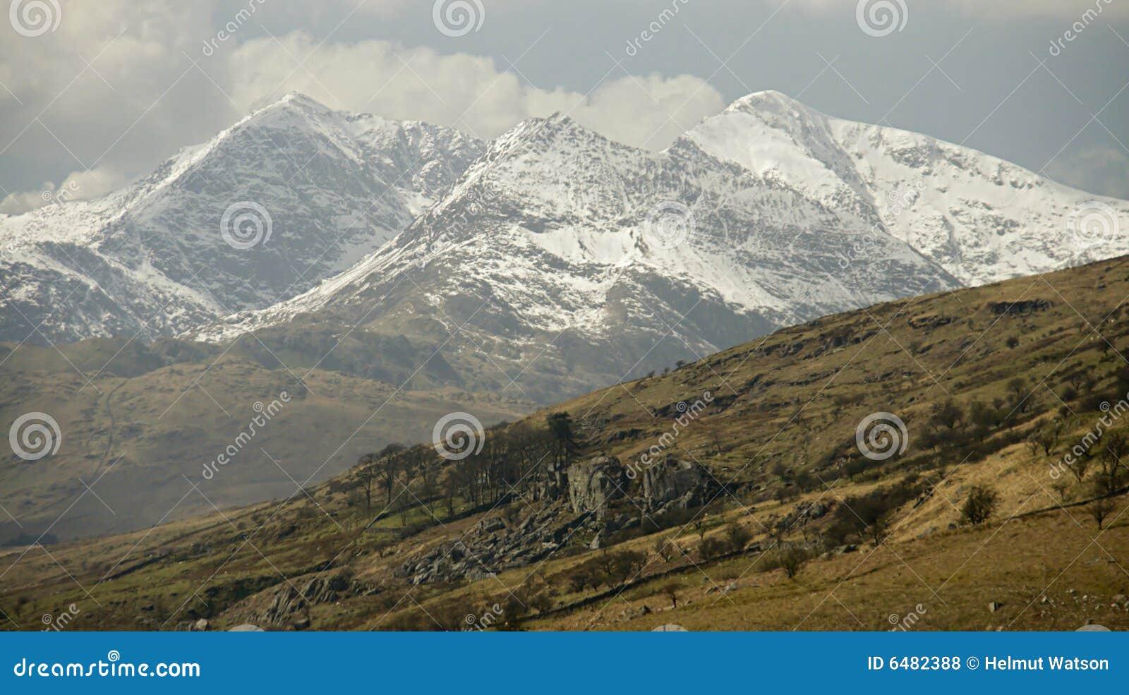 Cimeira da montagem Snowdon