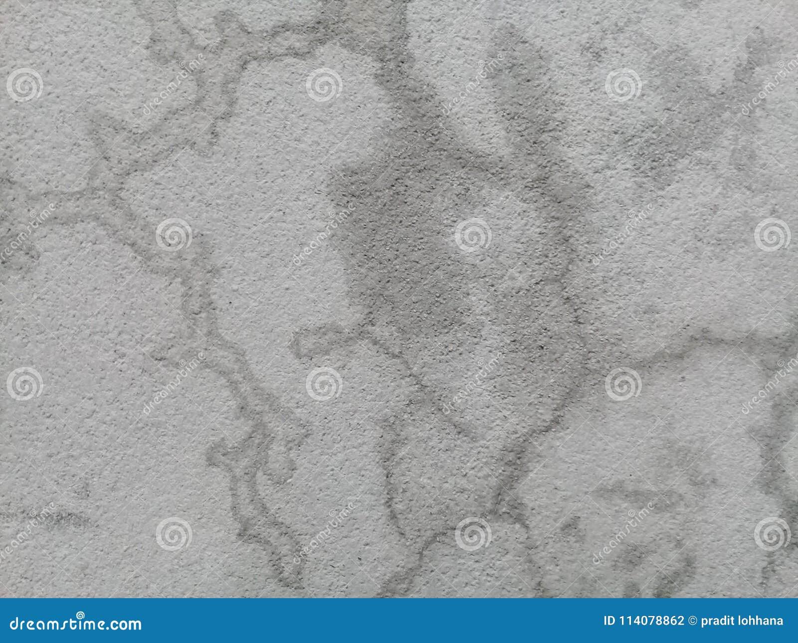 Cimentez le fond noir et blanc de mur de plancher de couleur de vieux hiatus