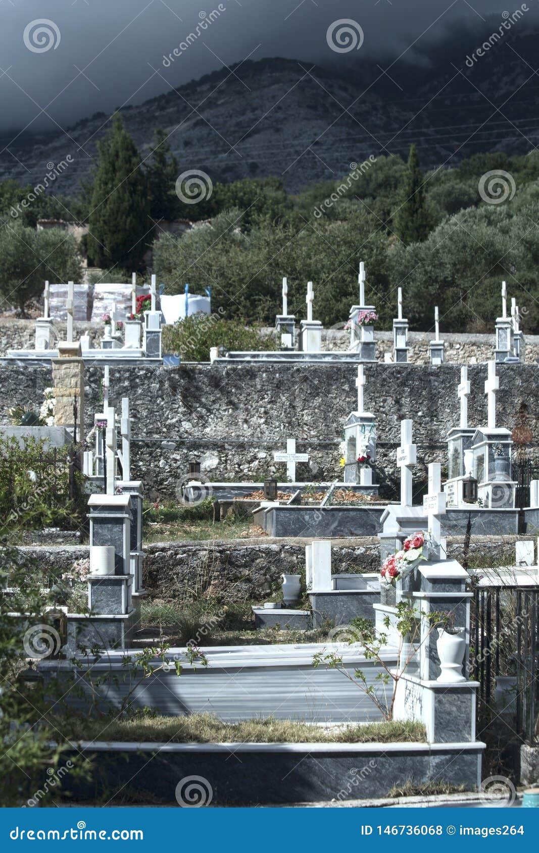 Cimeti?re orthodoxe grec