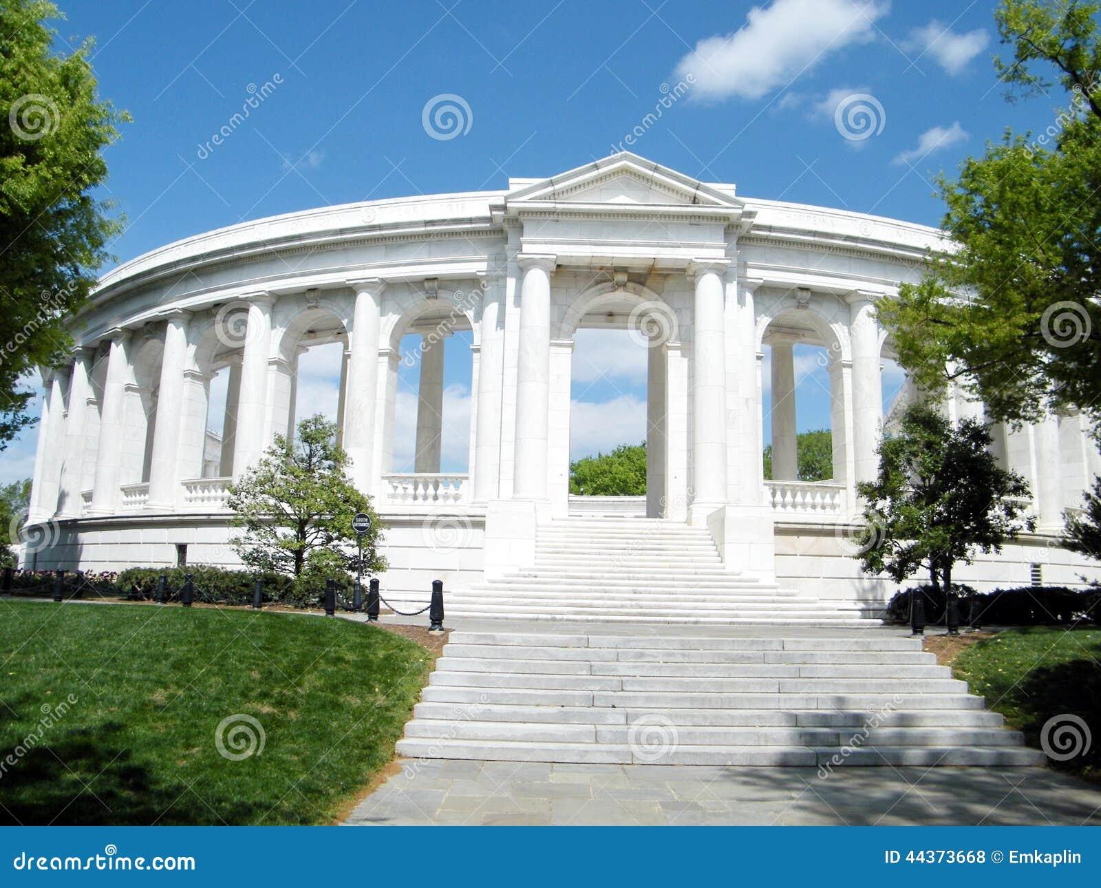 Cimitero di Arlington l anfiteatro commemorativo 2010