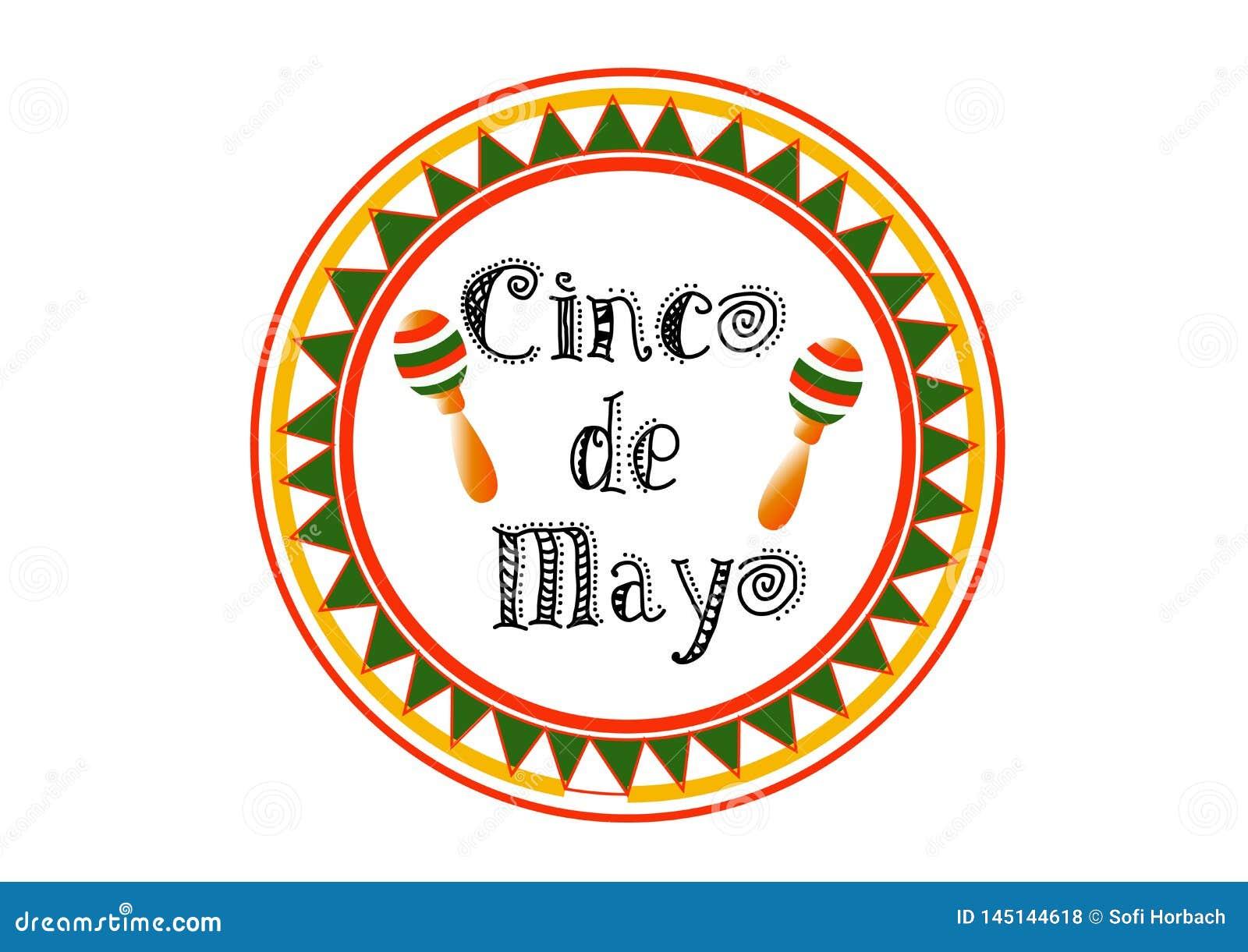 Cinco De Mayo-bunting achtergrond EPS 10 vector royaltyvrije voorraadillustratie voor groetkaart, advertentie, bevordering, affic