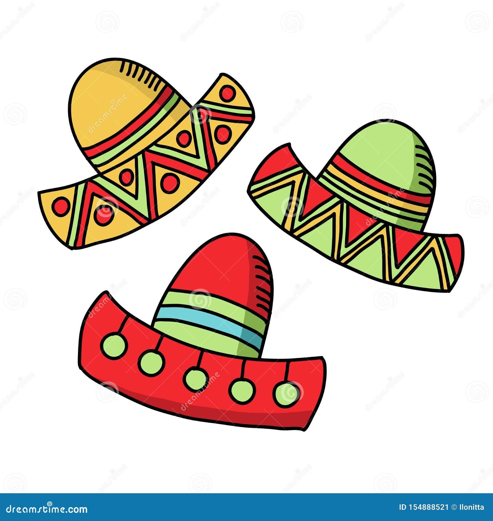 Cinco De Mayo Celebration, Festive Hats ...