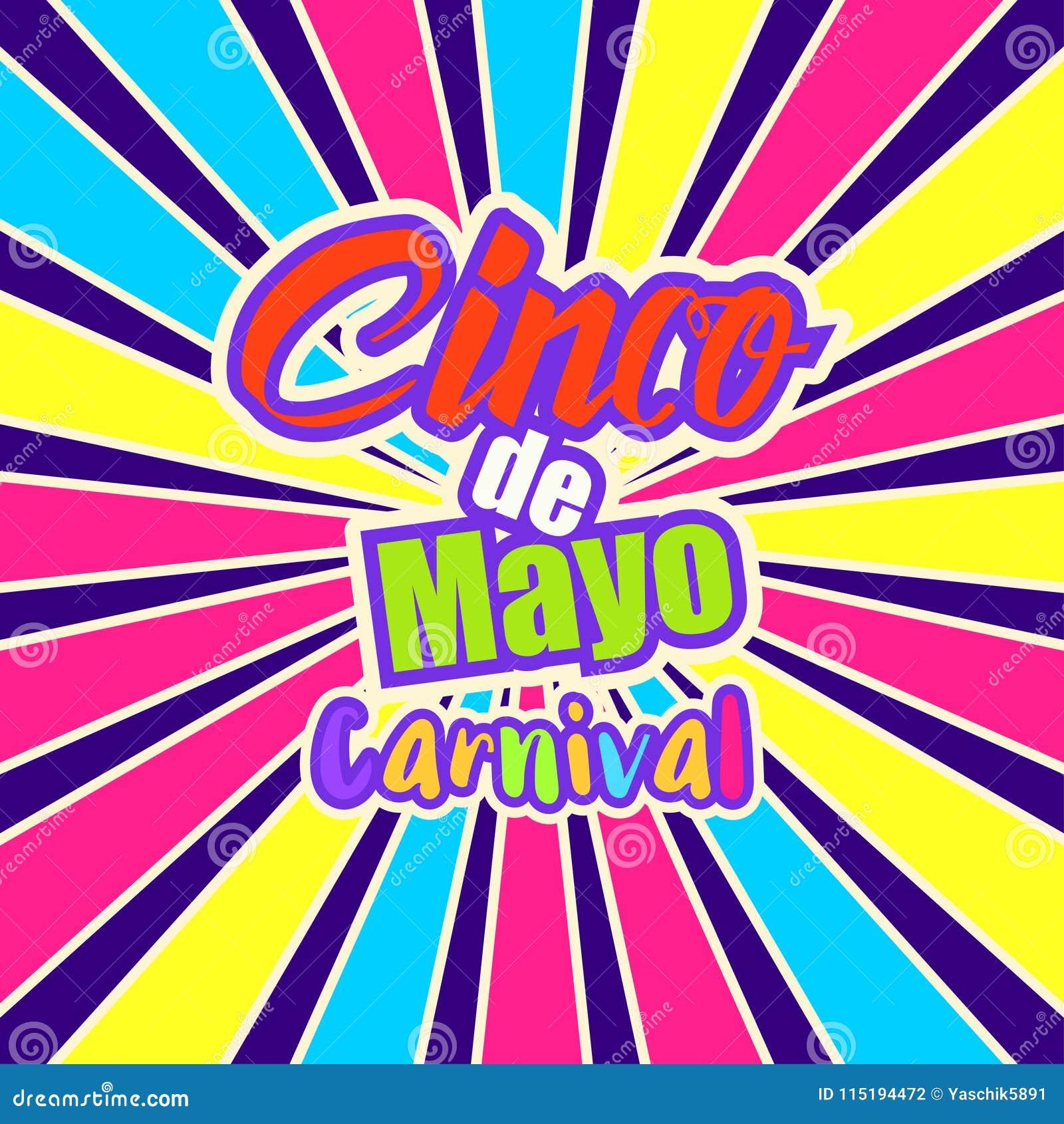 cinco de mayo celebration in mexico stock illustration illustration of mexican template 115194472