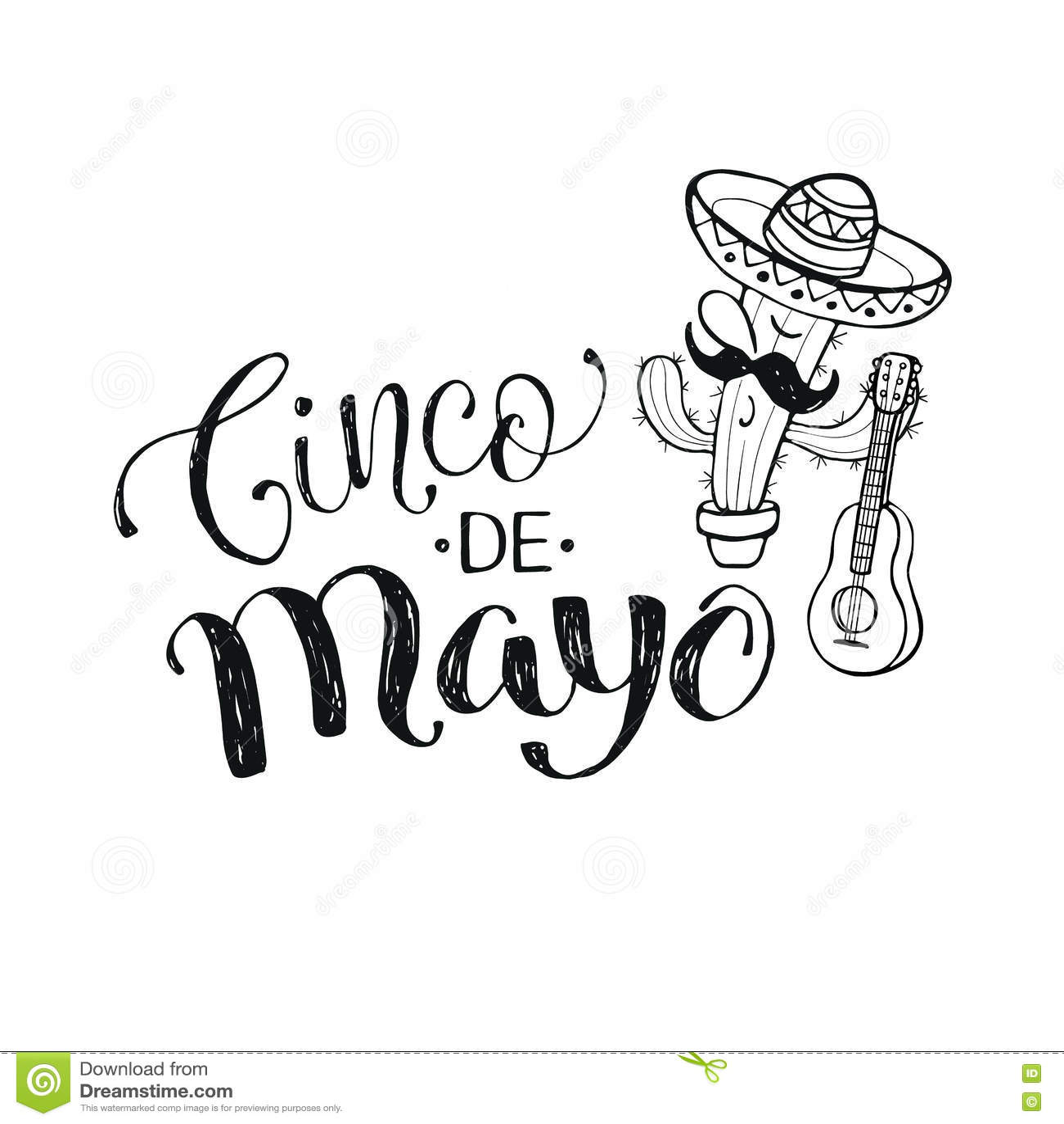 Cinco de Mayo-illustratie