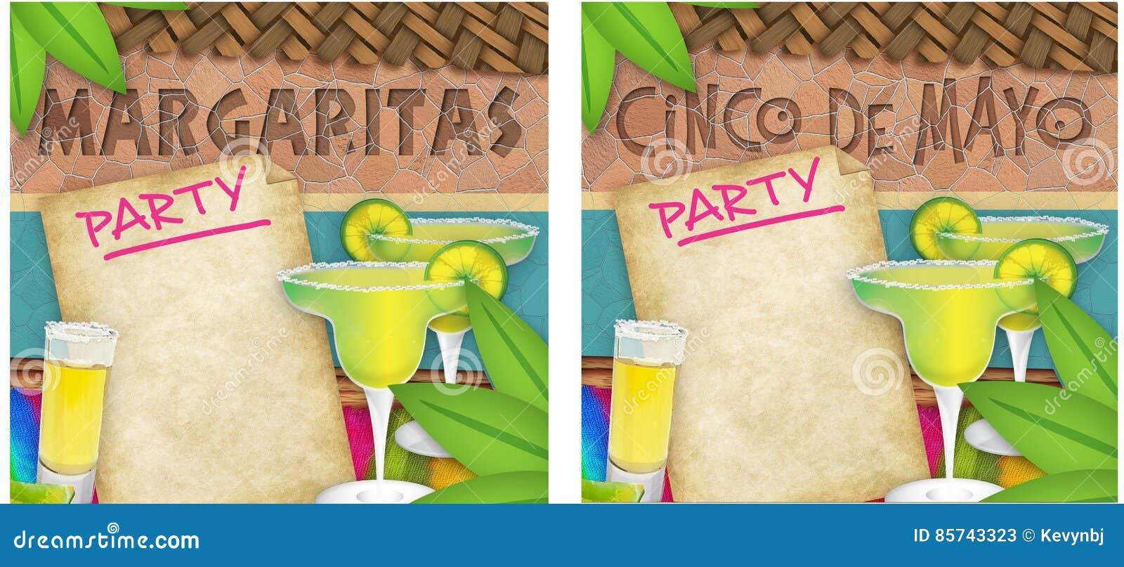 Cinco De Mayo Margarita Party