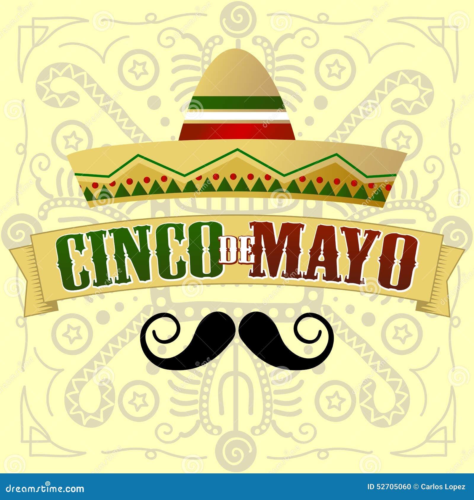 Cinco de Mayo Moustache