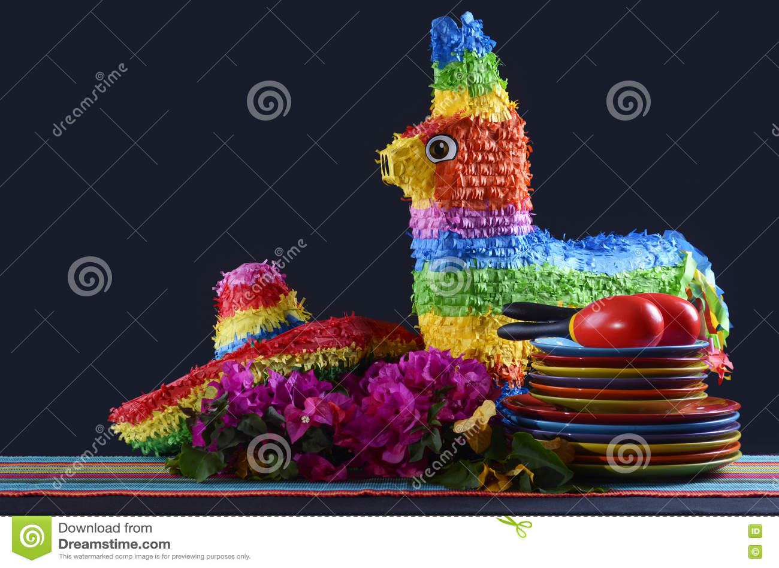 Cinco de Mayo przyjęcia stół