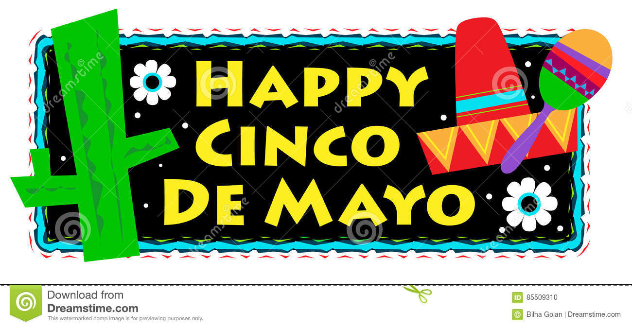 Cinco De Mayo Sign