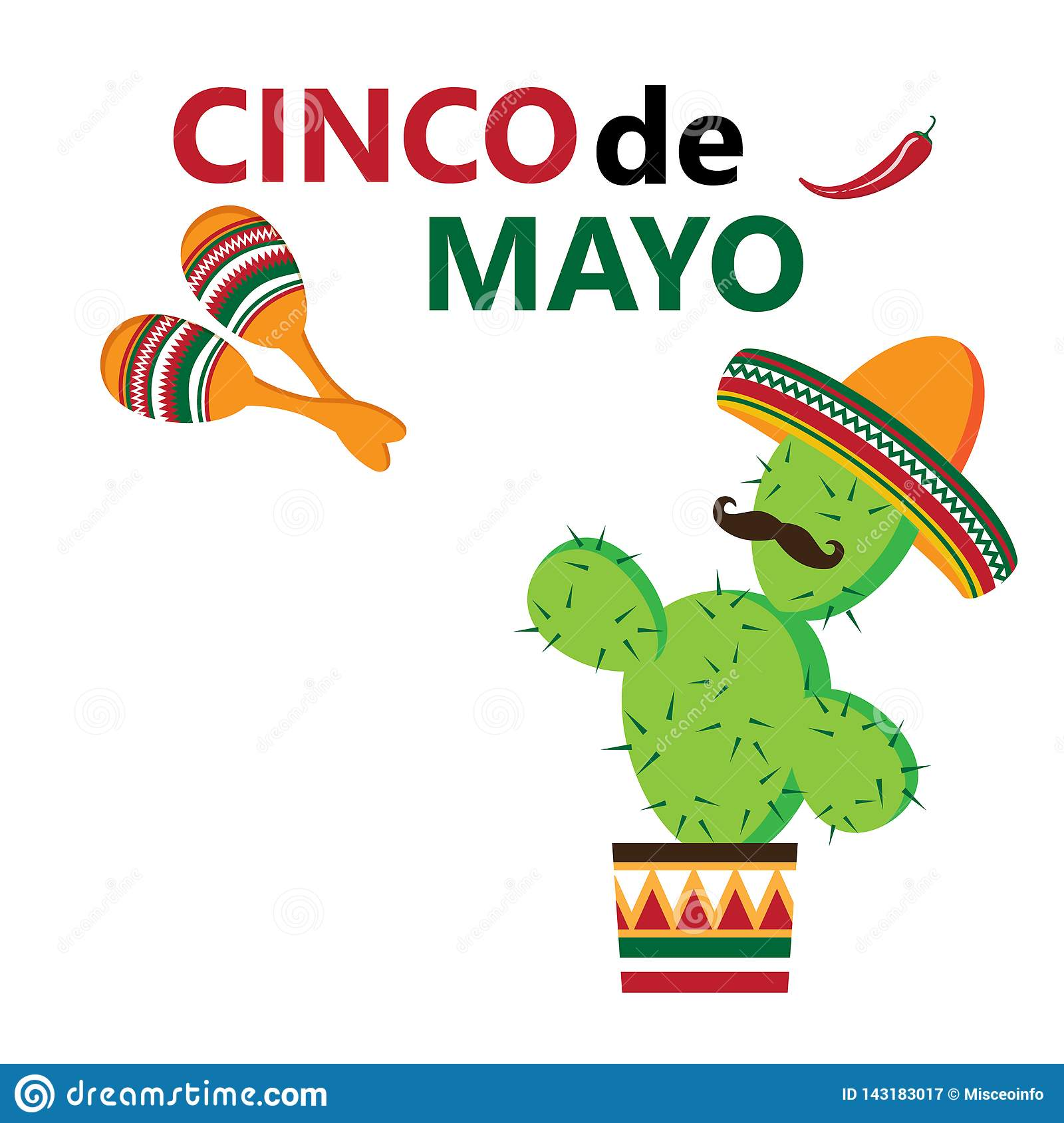 Cinco de Mayo, vector illustration