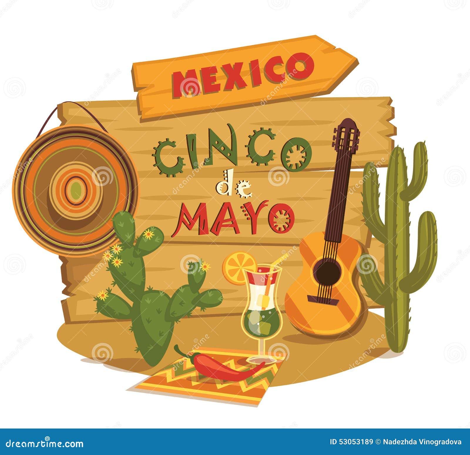 Cinco De Mayo. Vector Illustration. Stock Vector - Image ...