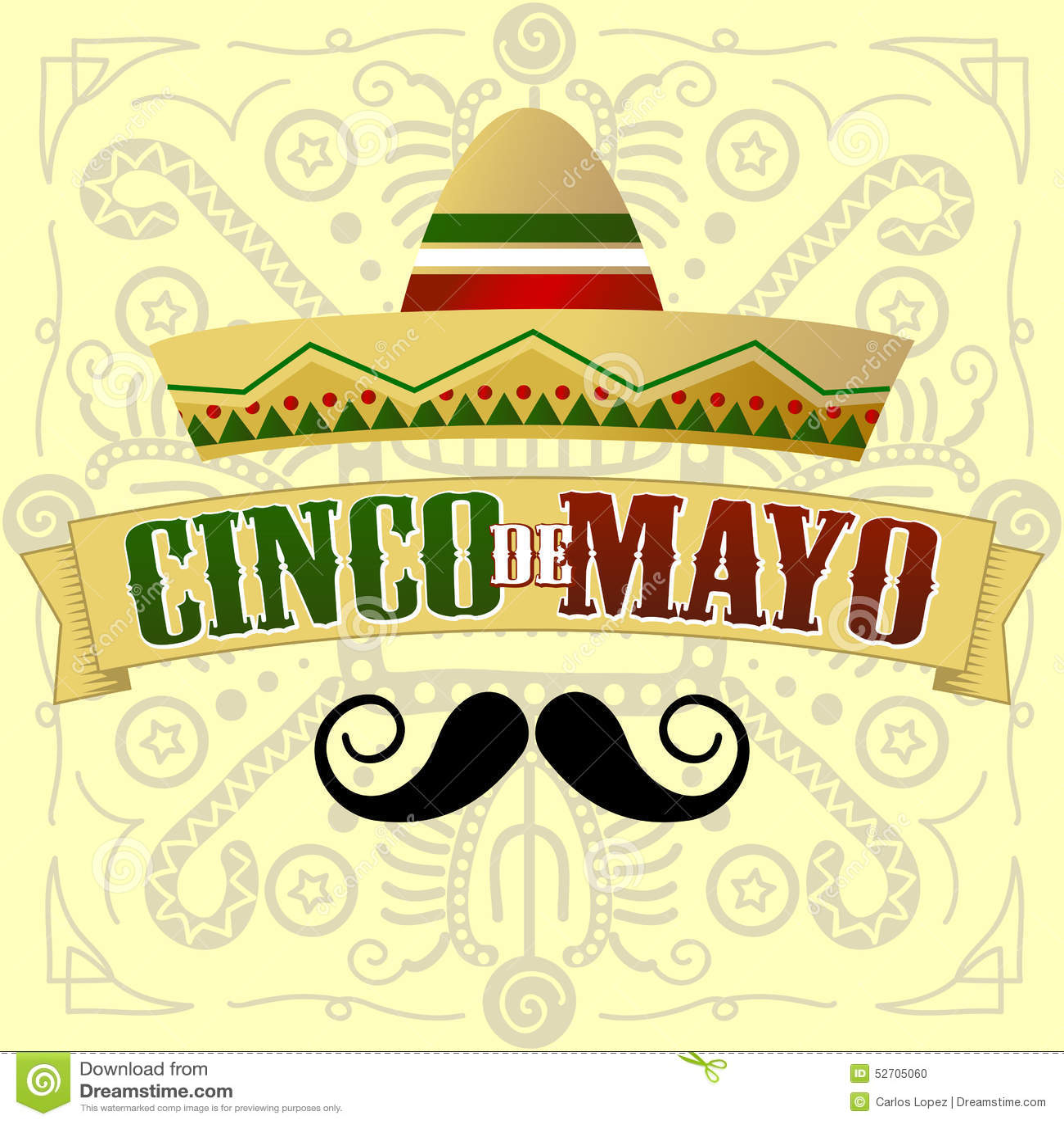 Cinco de Mayo wąs
