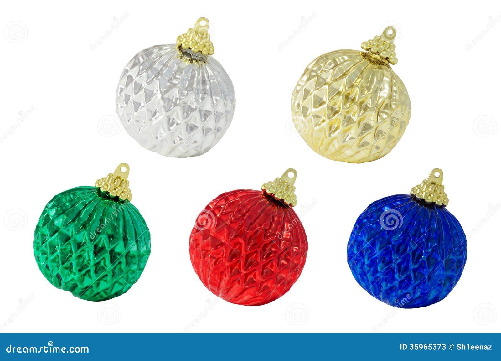 Cinco decoraciones de la Navidad