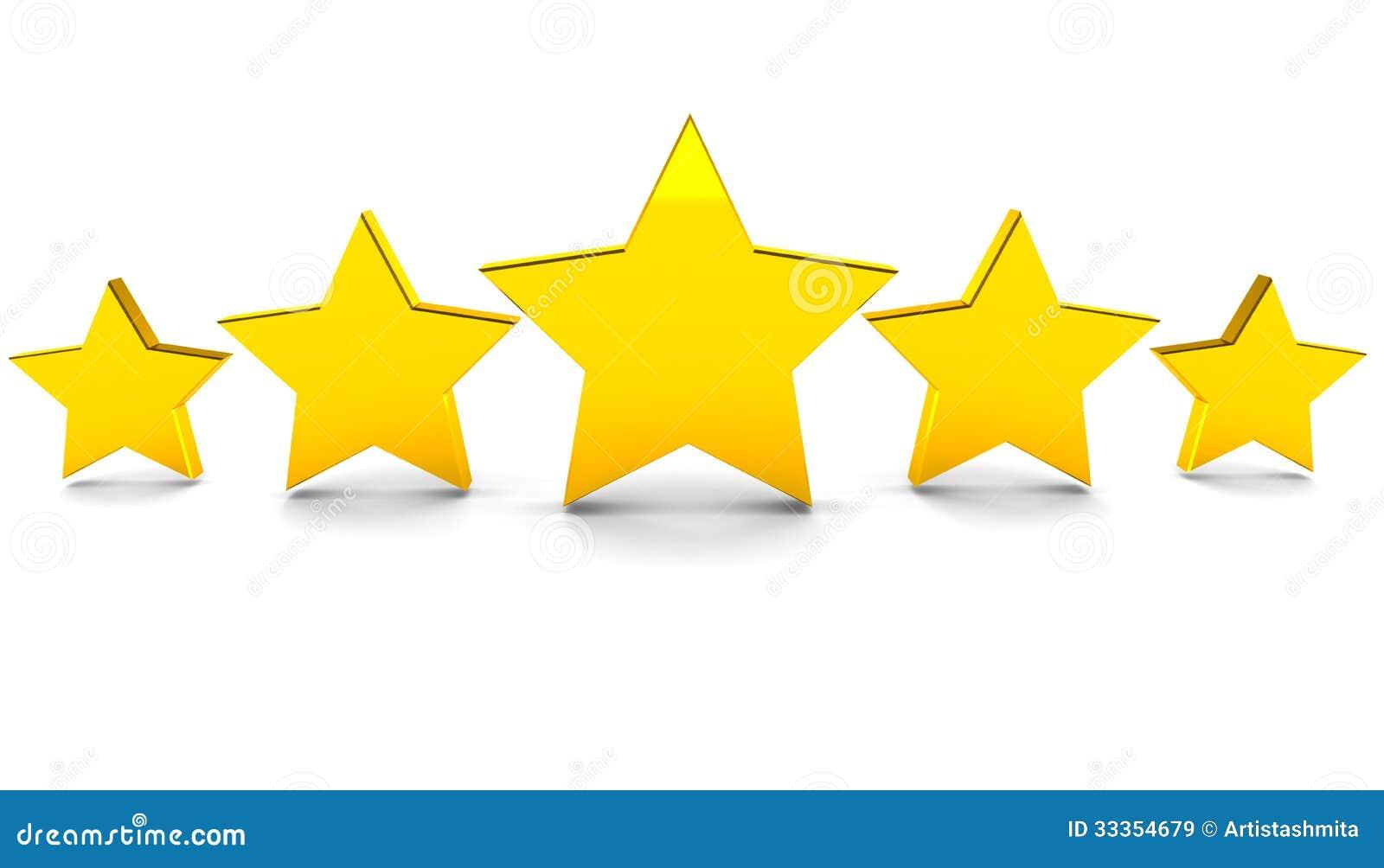 Cinco estrellas