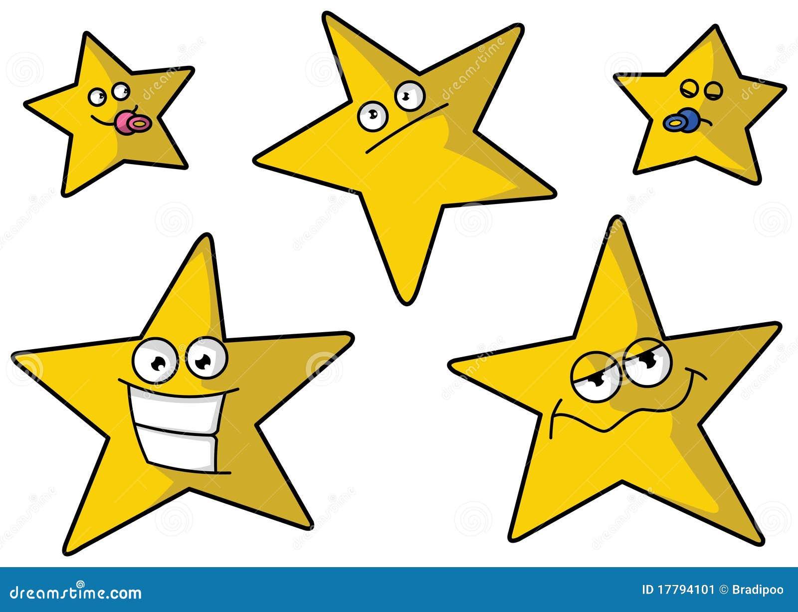 Cinco estrellas divertidas