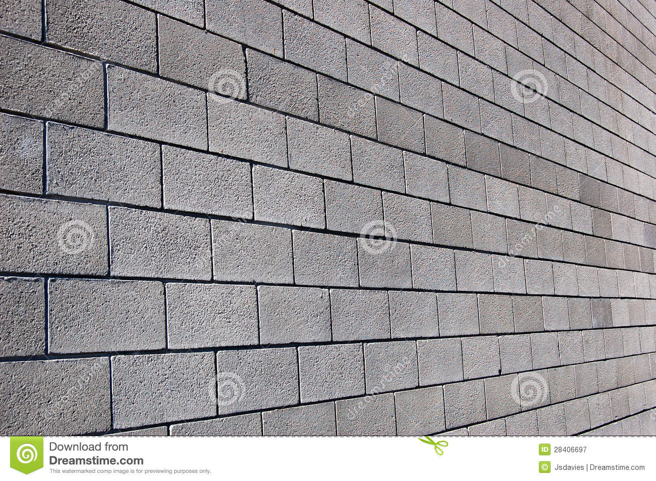 Cinder Block Wall Royalty Free Stock Photography Image